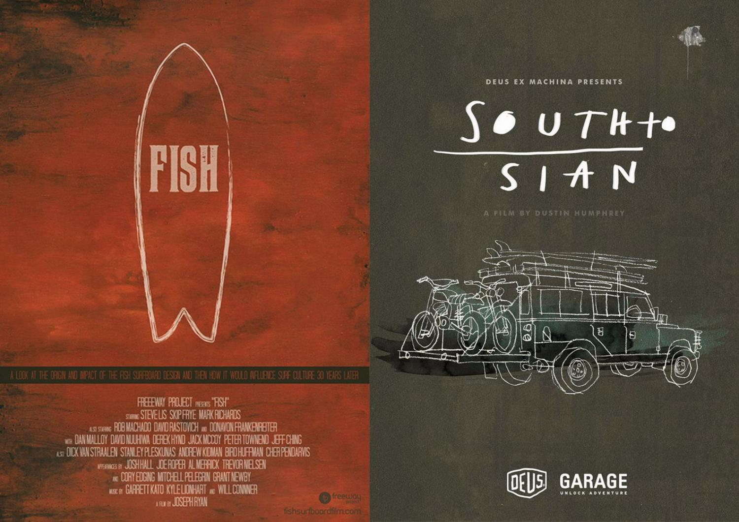 DVD『SOUTH TO SIAN』、『 FISH 』最終入荷!!