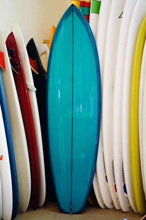 "*Mitsven Surfboards * 6'6"" * Pointed Gypsy *"