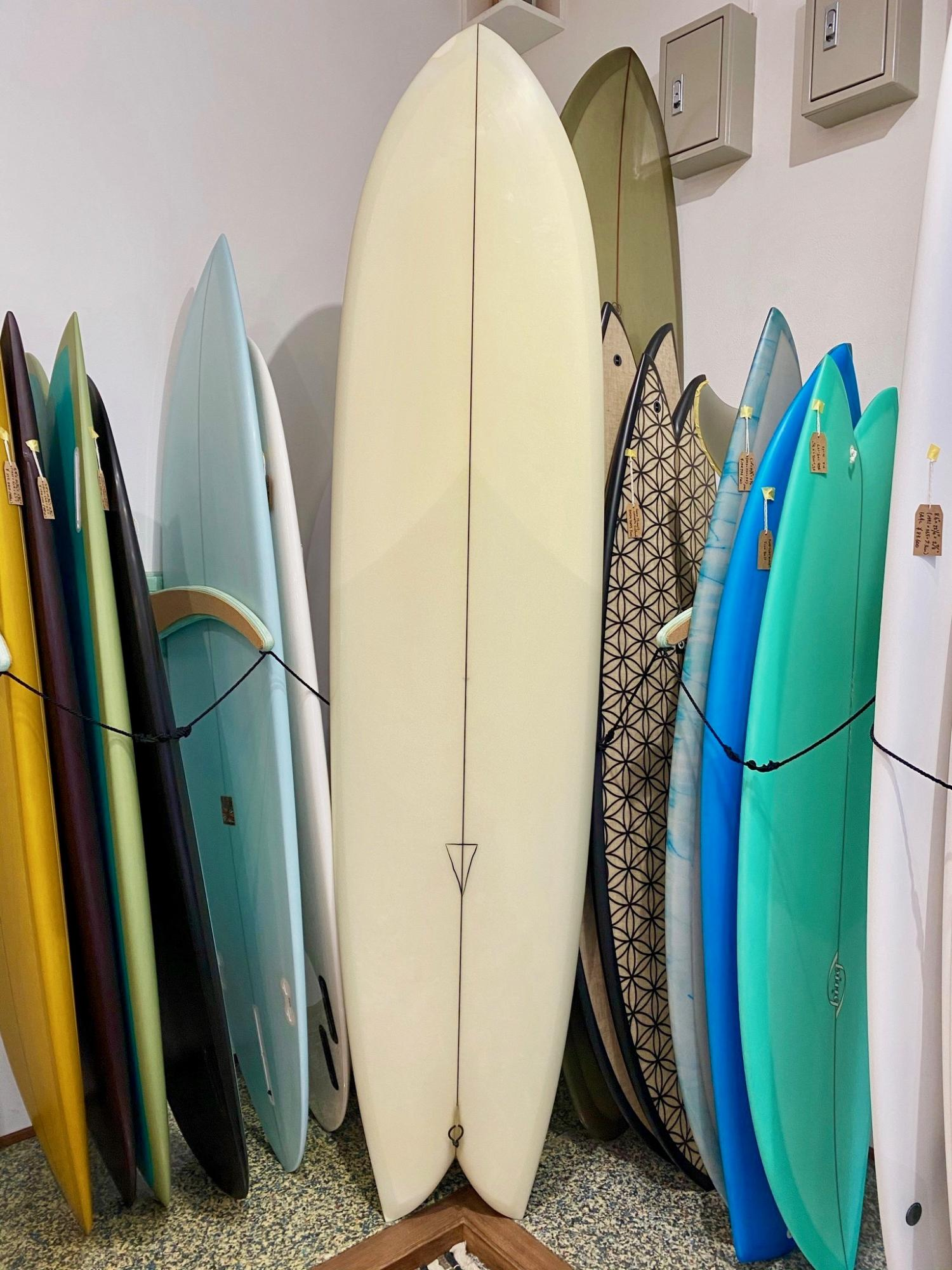 商談中 USED BOARDS (Nautilus 7.6 CHRISTENSON SURFBOARDS)