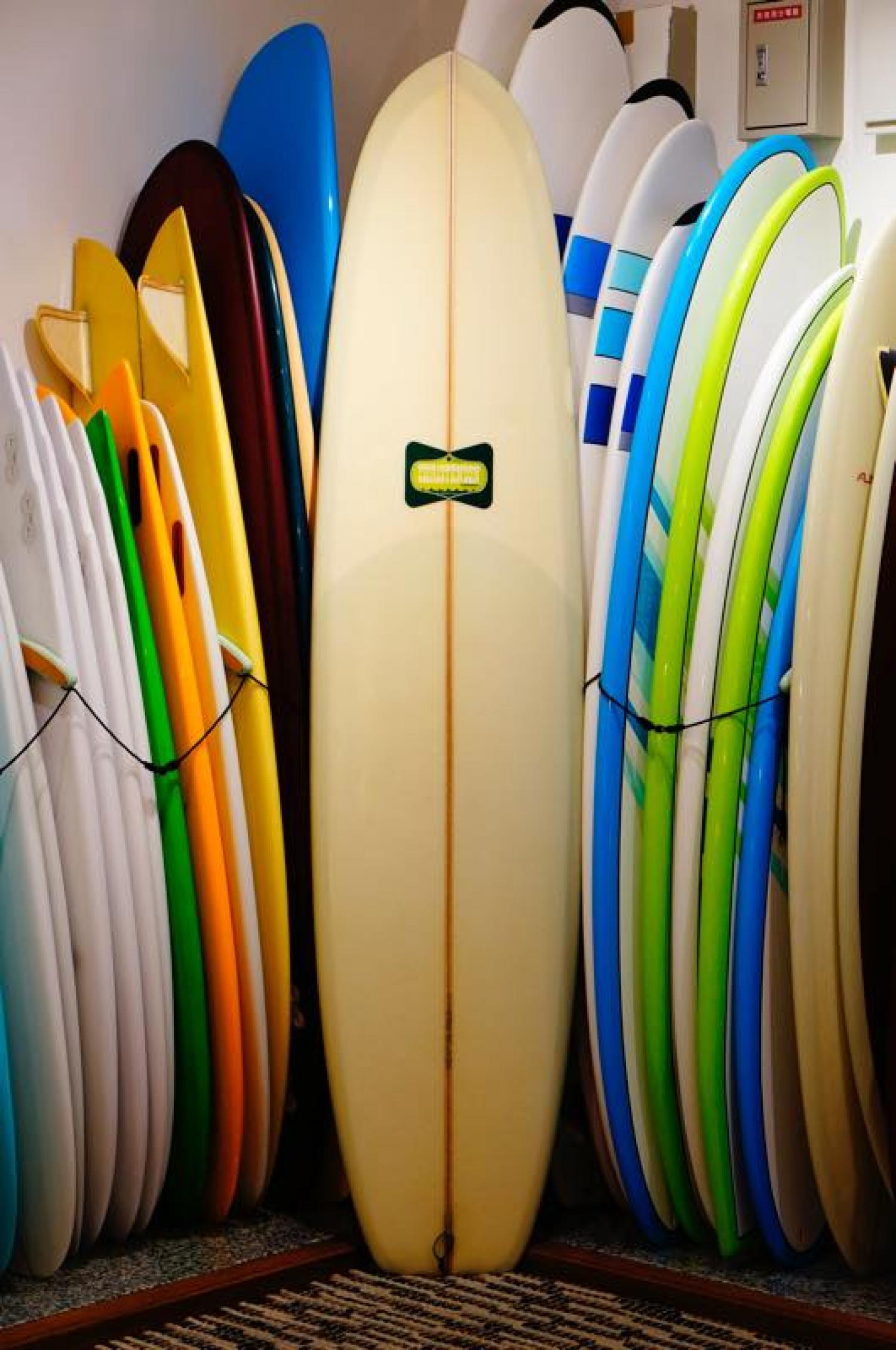 USED BOARDS (CHRISTENSON SURFBOARDS LONG SIMMONS 8.0)