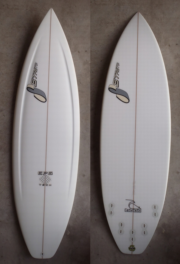 "STRETCH SURFBOARDS 「RAT SKATE 5'8""」"