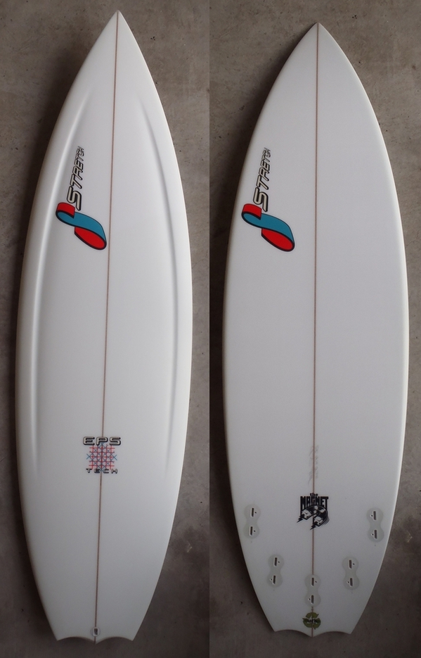 "STRETCH SURFBOARDS 「MAGNET 5'8""」"