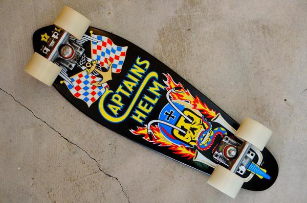 CAPTAINS HELM×GFH skateboard 24""