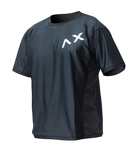 [AXXE]  AIR-FAST RASH GUARD TEE  BLK