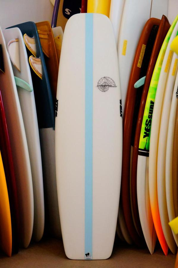 "USED BOARDS (Hydrodynamica Golden Mean Machine 5'8""XTR Stringerless)"