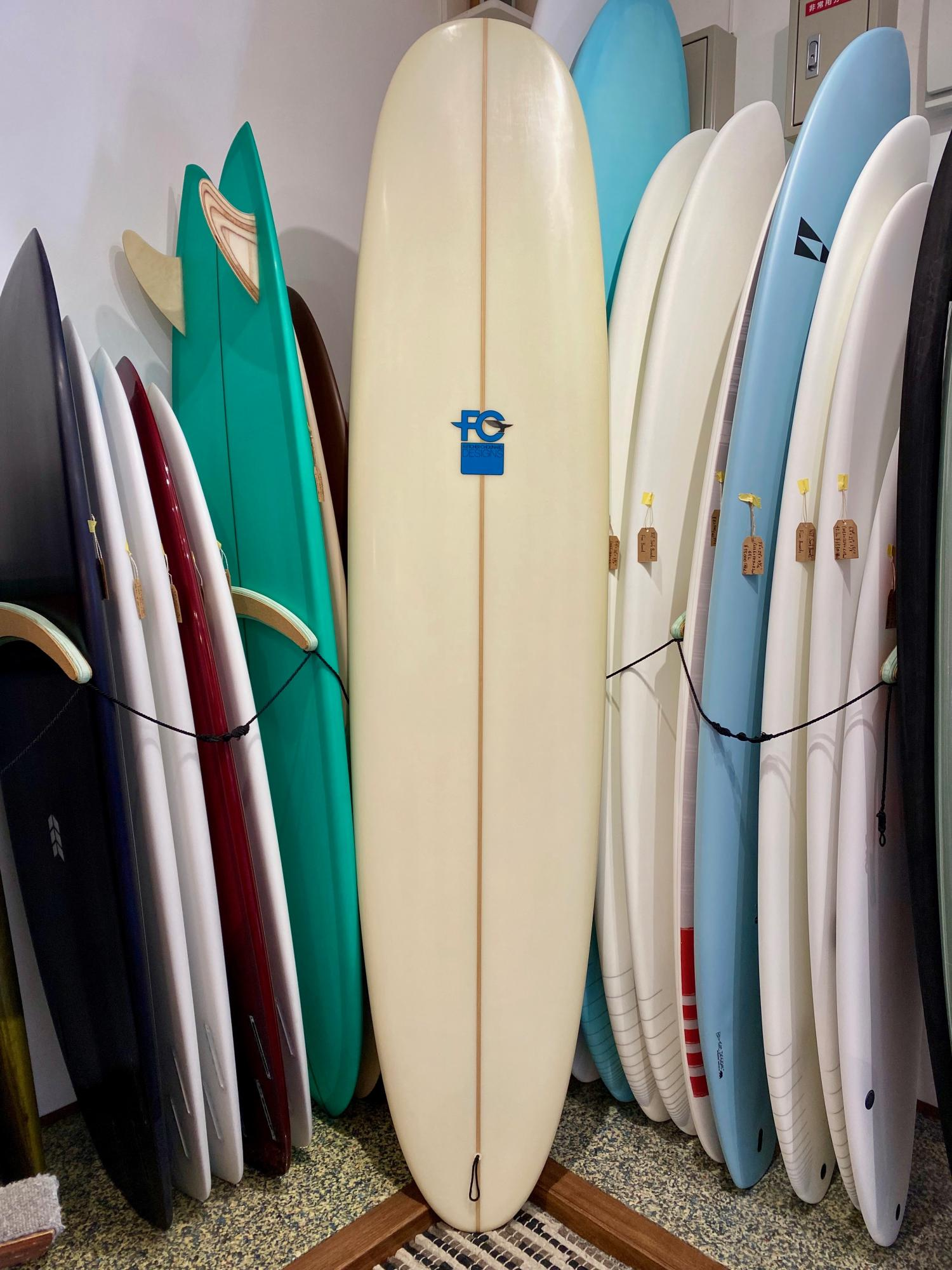 USED BOARDS (7.4 FCD Surfboards HUEVO RANCHERO)