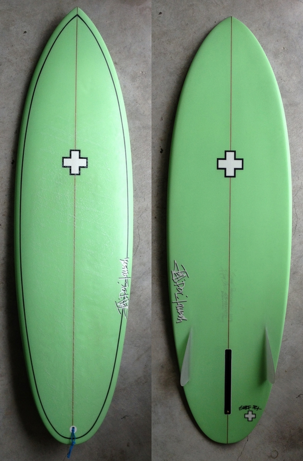 USED BOARDS(BUSH WACKING THANG (BWT) 5'8""