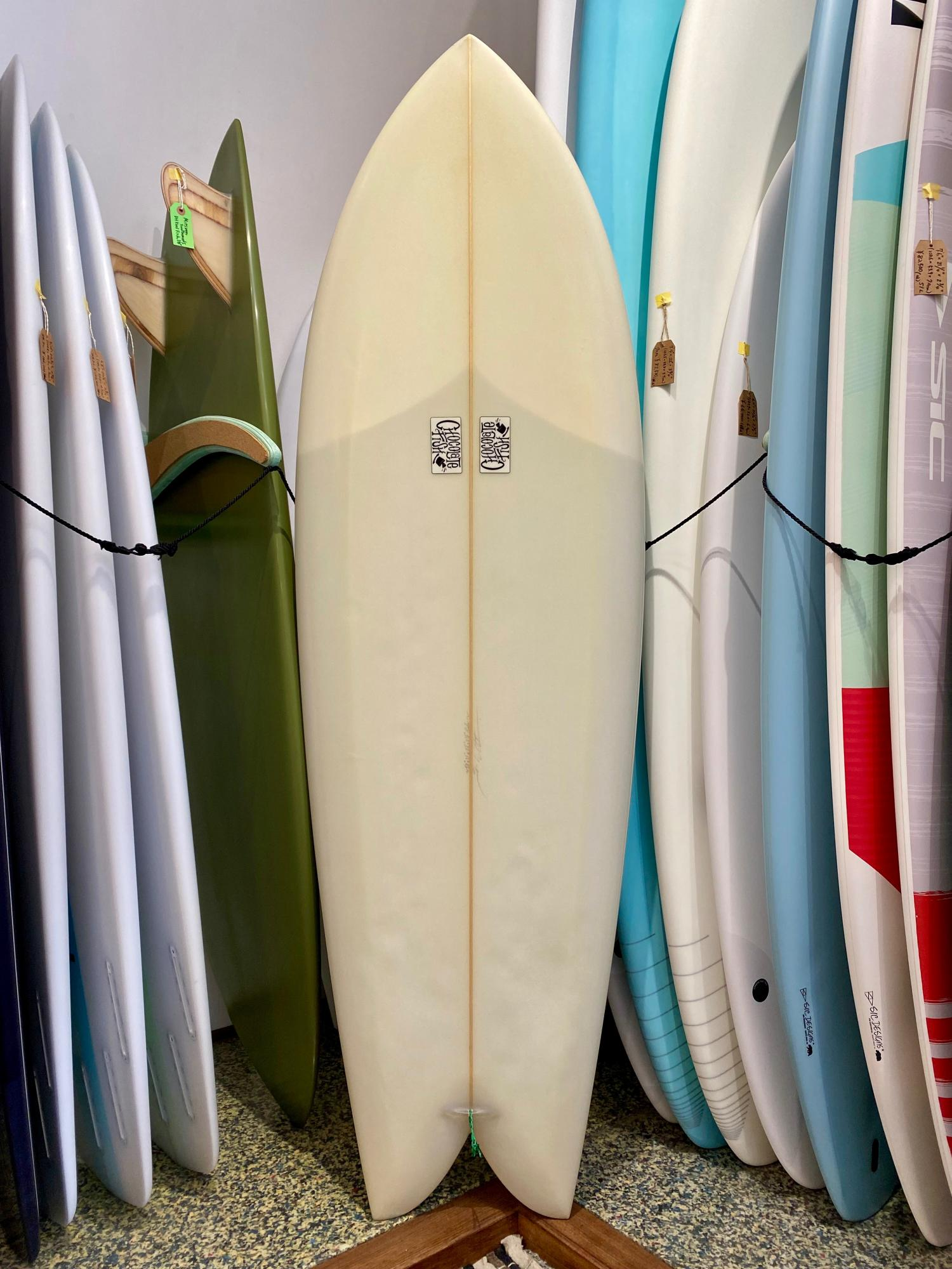 USED BOARDS (Chocolate Fish Surfboards Twin Fish 6.0)