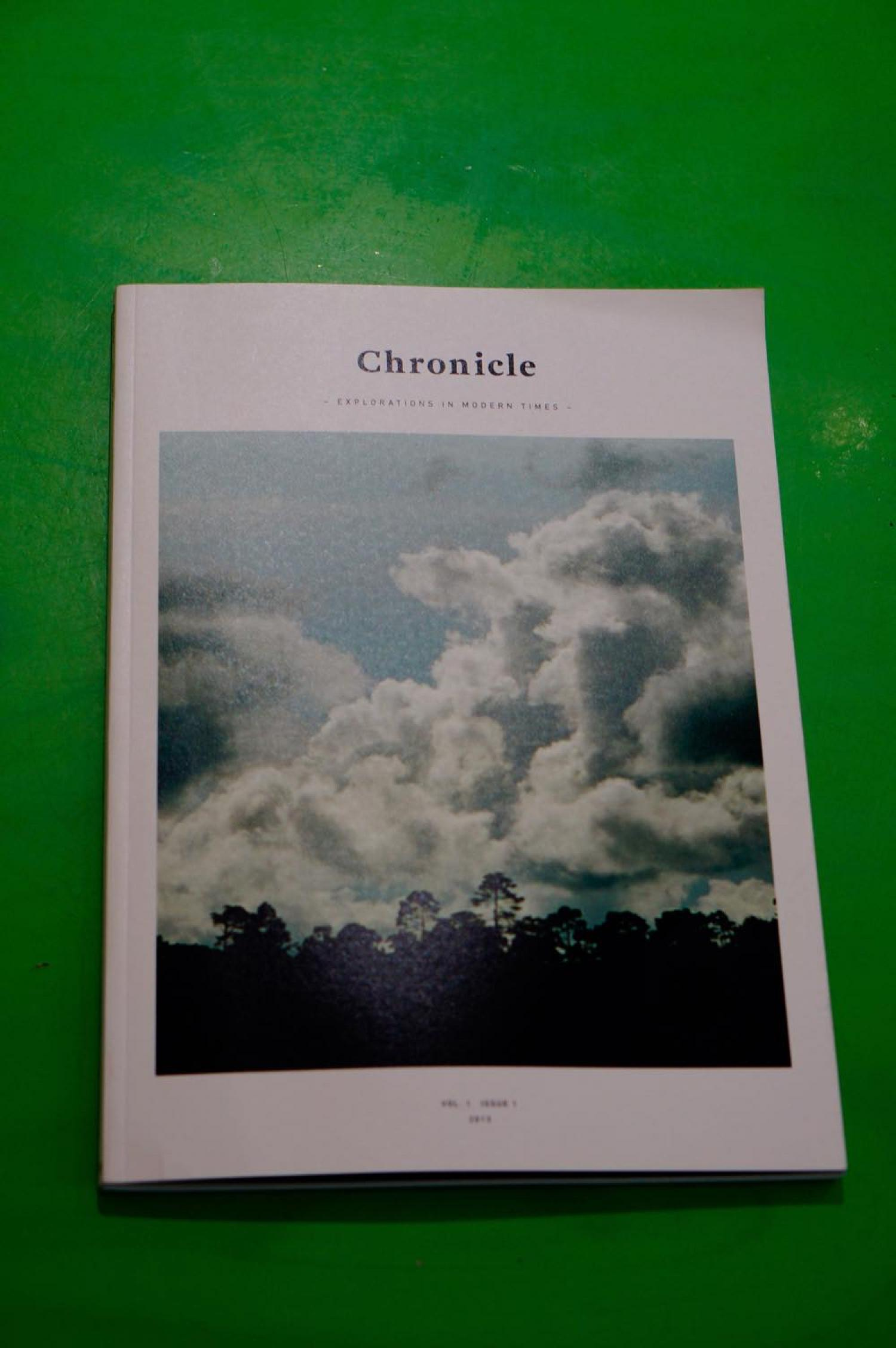 Chronicle  VOL. 1 2013