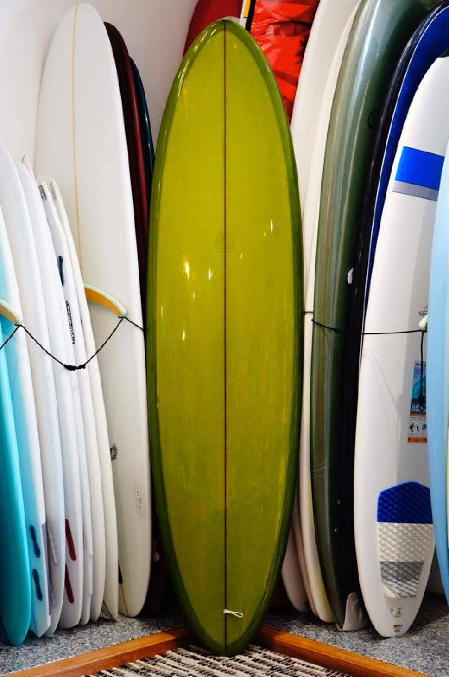 USED BOARDS ( Mitsven Surfboards 7.4 Mitsven Surfboards San Diego Egg  )