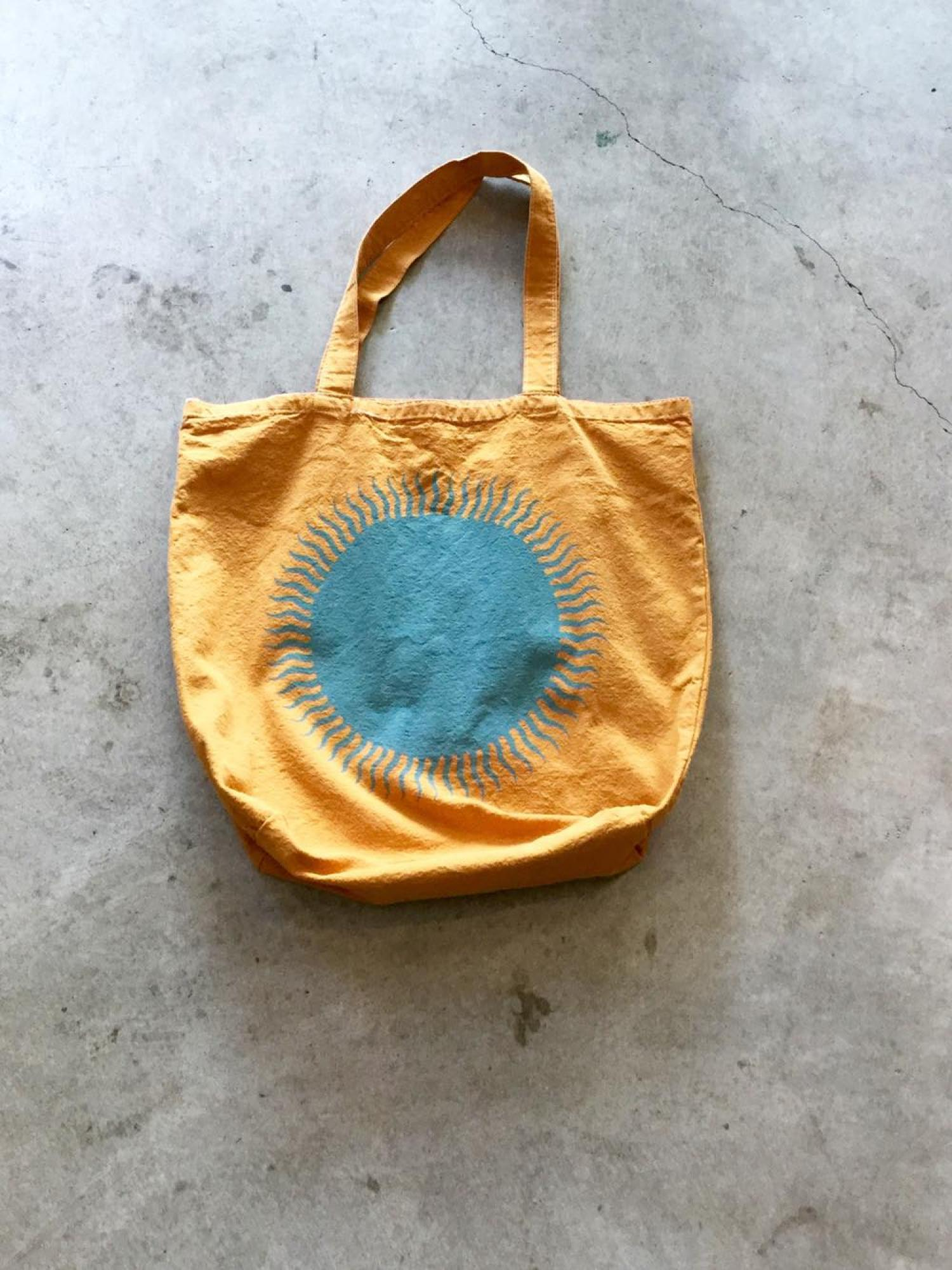 canvas tote organic cotton designed by Mollusk