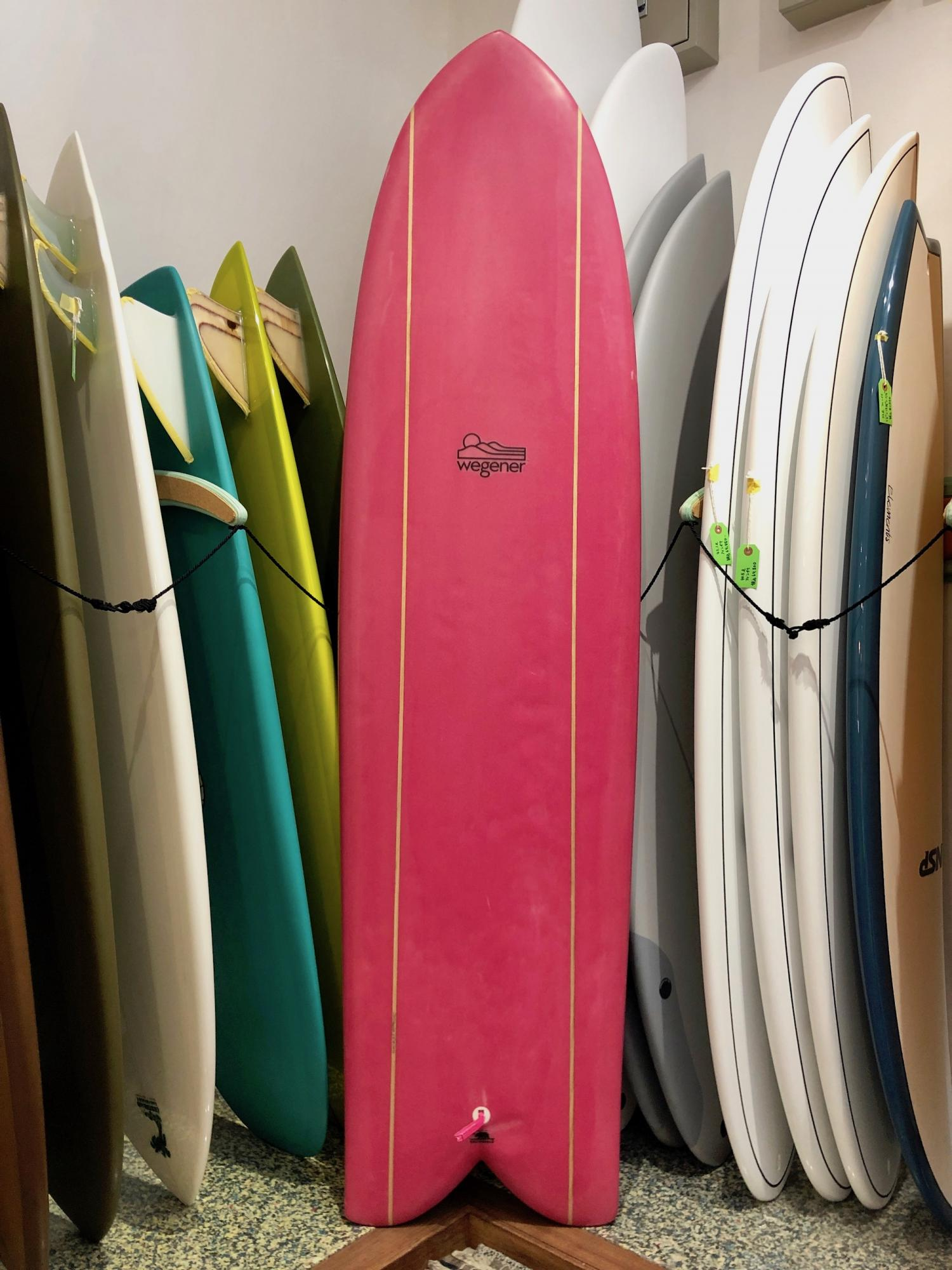 USED BOARDS ( JON WEGENER BLUEGILL 6.6 )