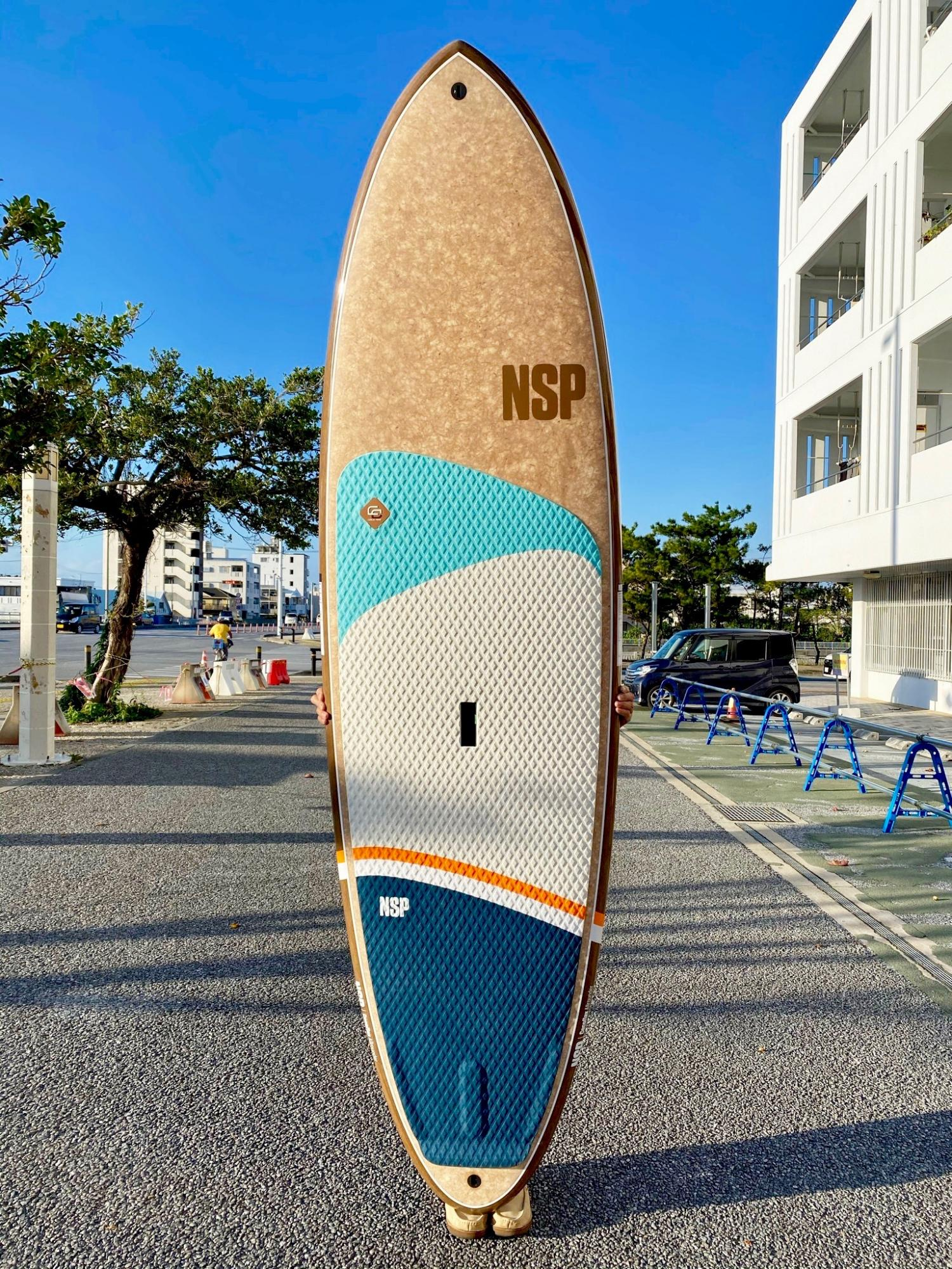 NSP Coco Flax SUP ALLROUNDER 10.0