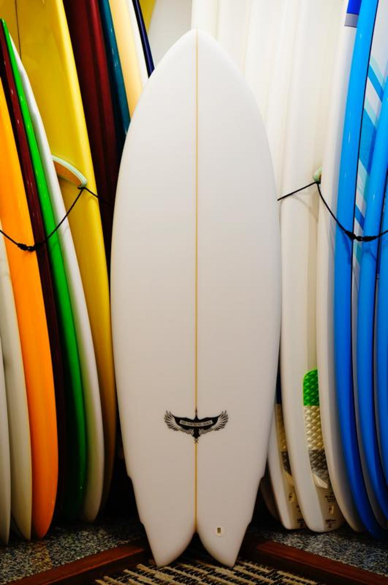RMD SURFBOARDS 5.8 Hybrid Quad