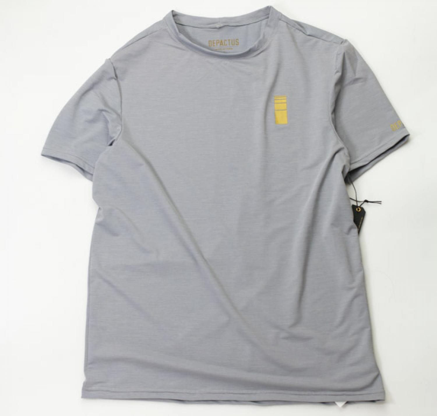 [DEPACTUS] ECLIPSE SUNGUARD TEE Light Heather
