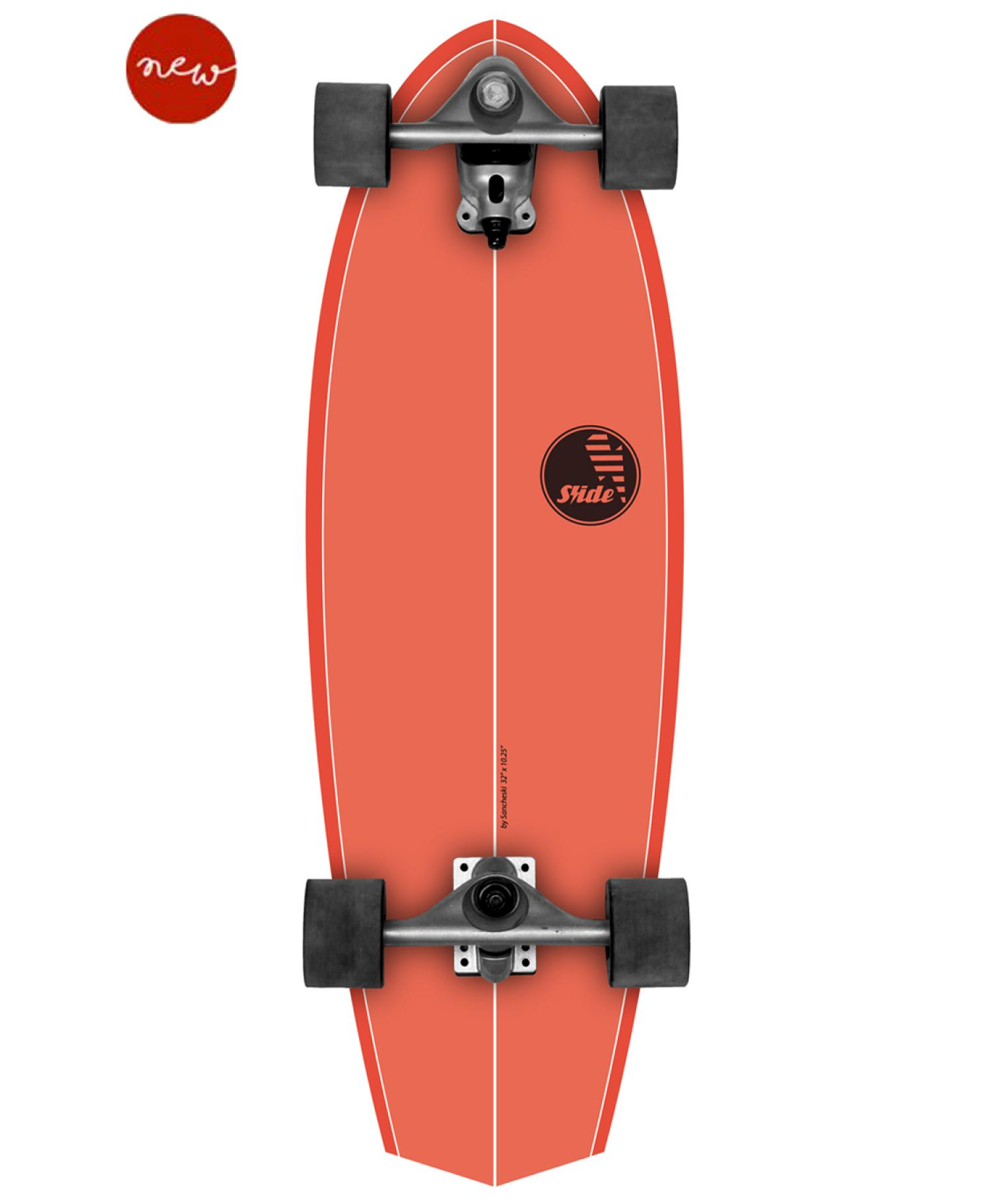 SLIDE SURF SKATE Diamond 32inch BROWN