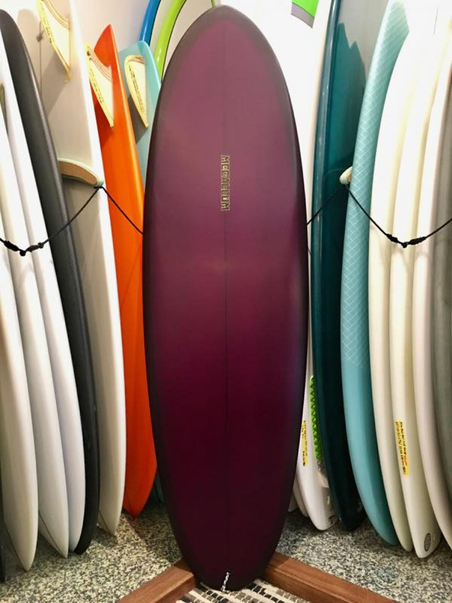 Mccallum Surfboards Upside Down Label  Kimura 5.10 )