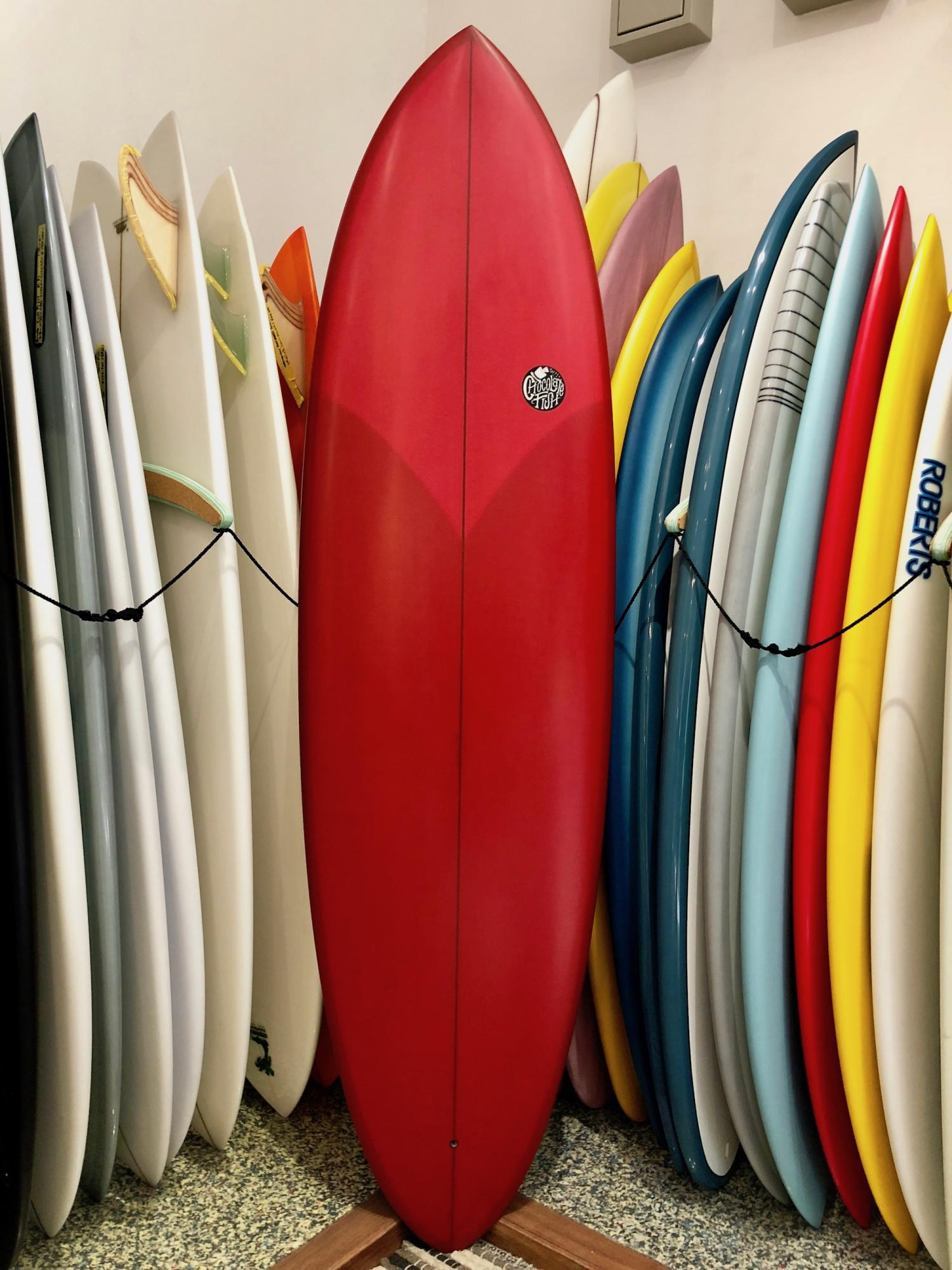 Chocolate Fish Surfboards Mini Pelican 6.8