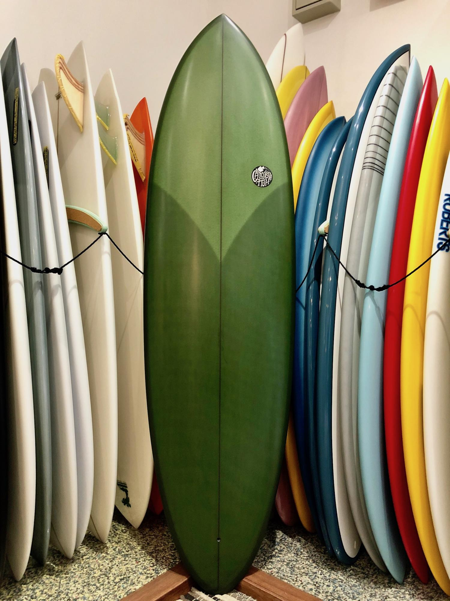 Chocolate Fish Surfboards Mini Pelican 6.6