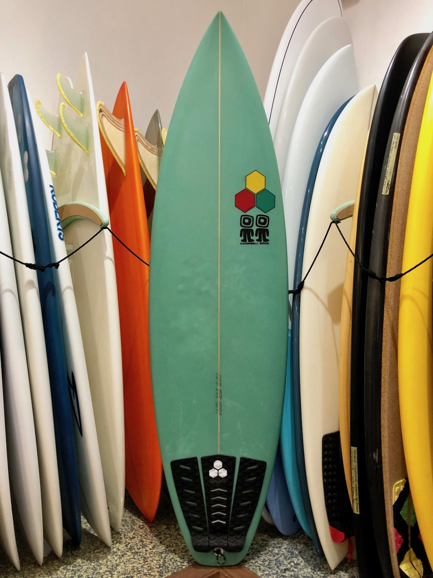 USED BOARDS (Channel Islands The Bonzer Shelter 5.11)