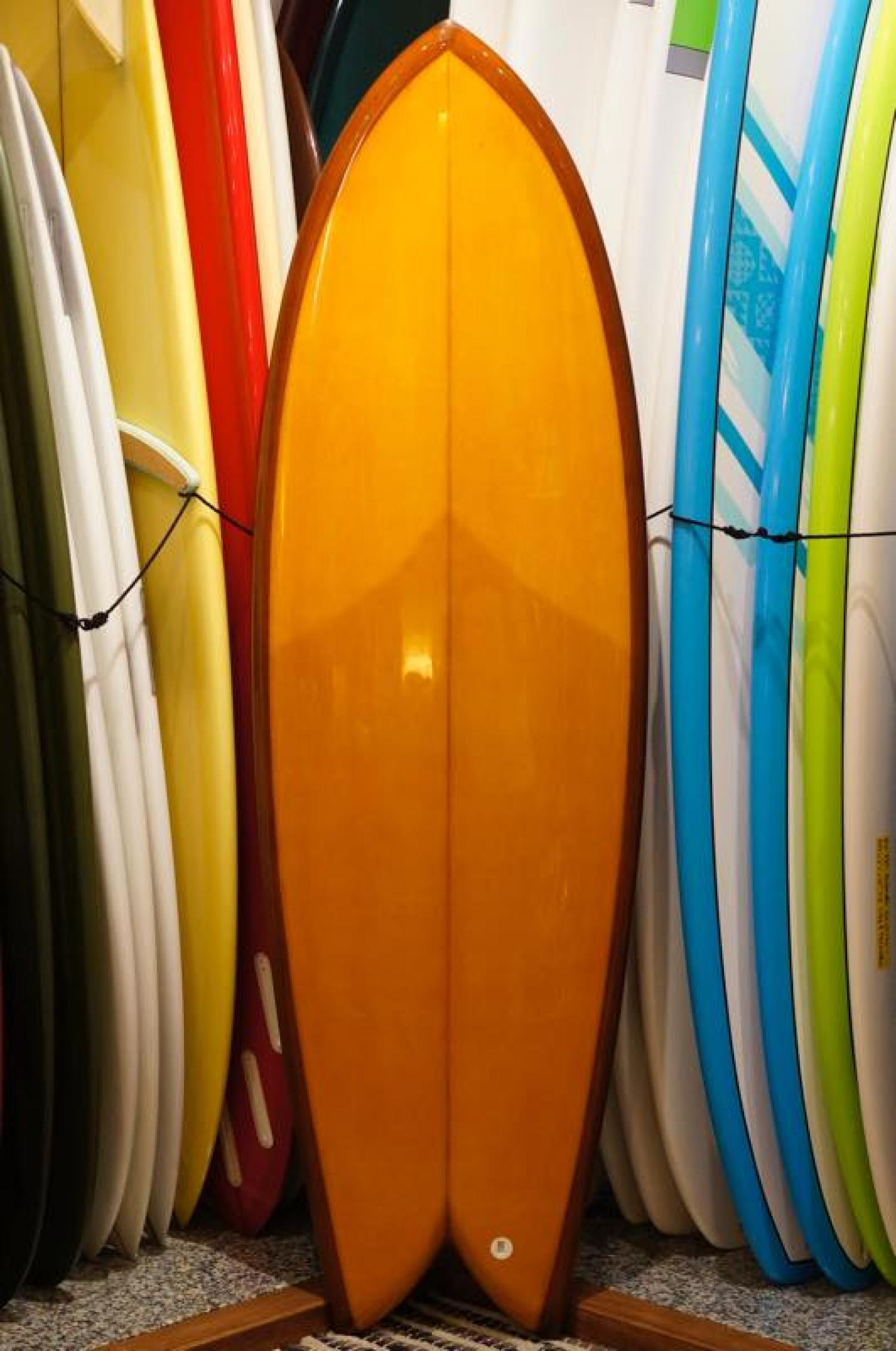 RMD SURFBOARDS 6.0 Hybrid Twin Brown Tint