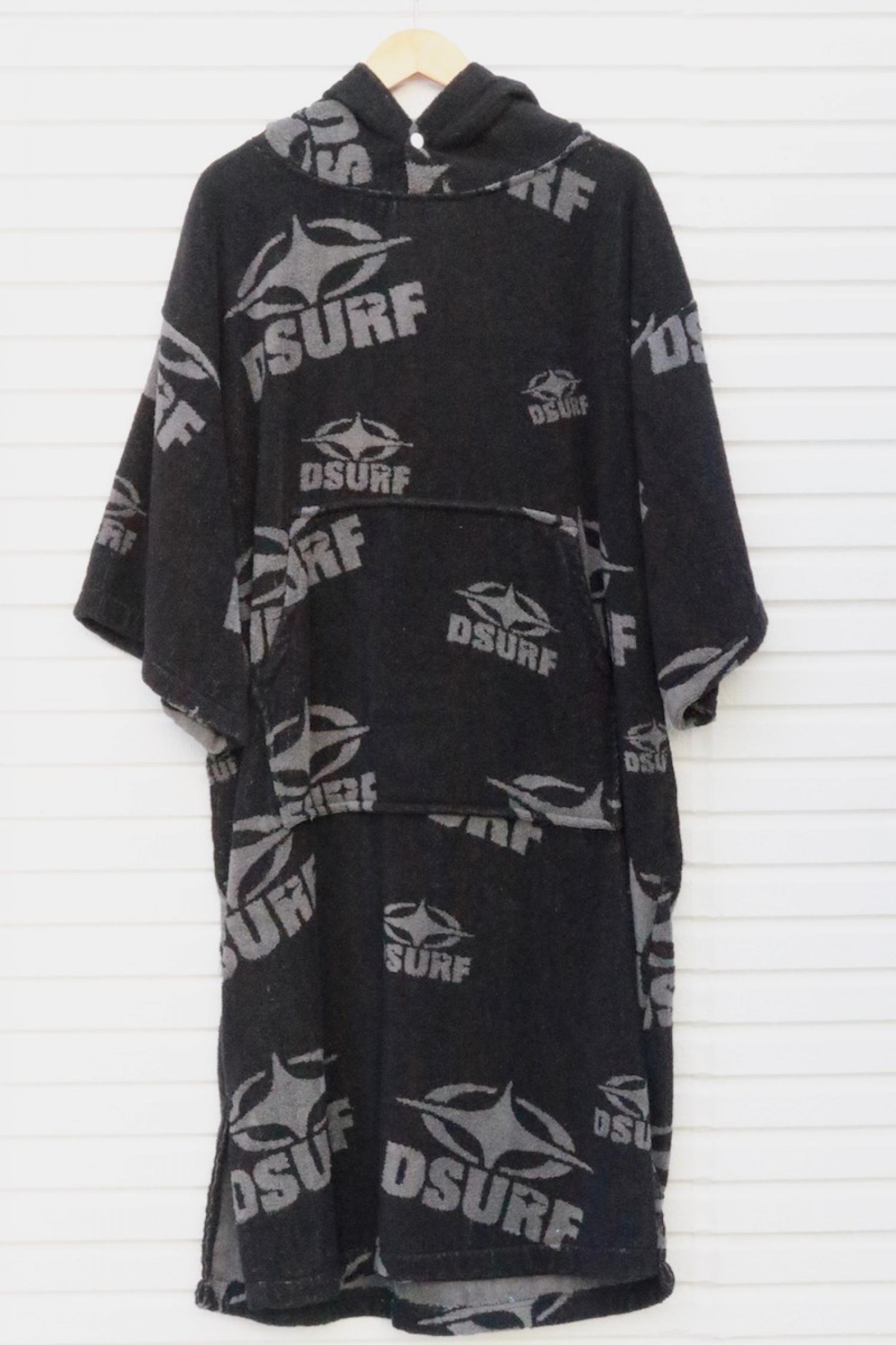 DESTINATION PONCHO BLACK/GREY