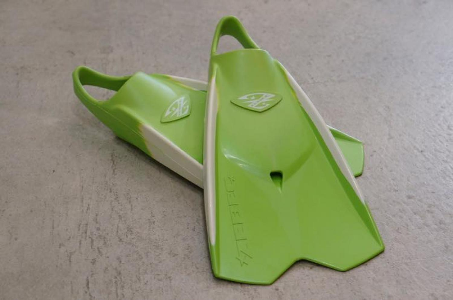 ZWBEC BODY BOARD lime white S