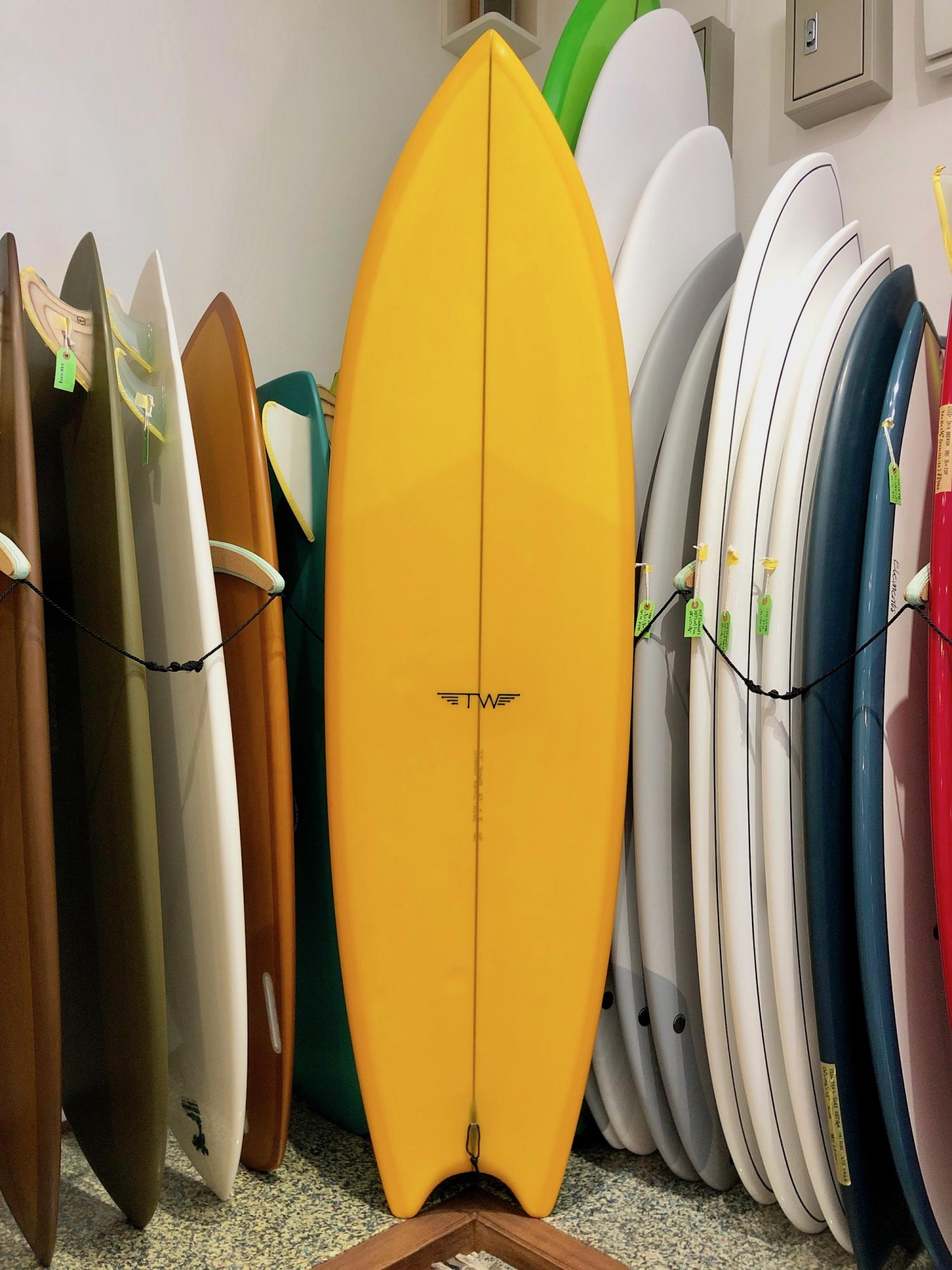 USED BOARDS  (Tyler Warren Surfboards BULLET 7.0)