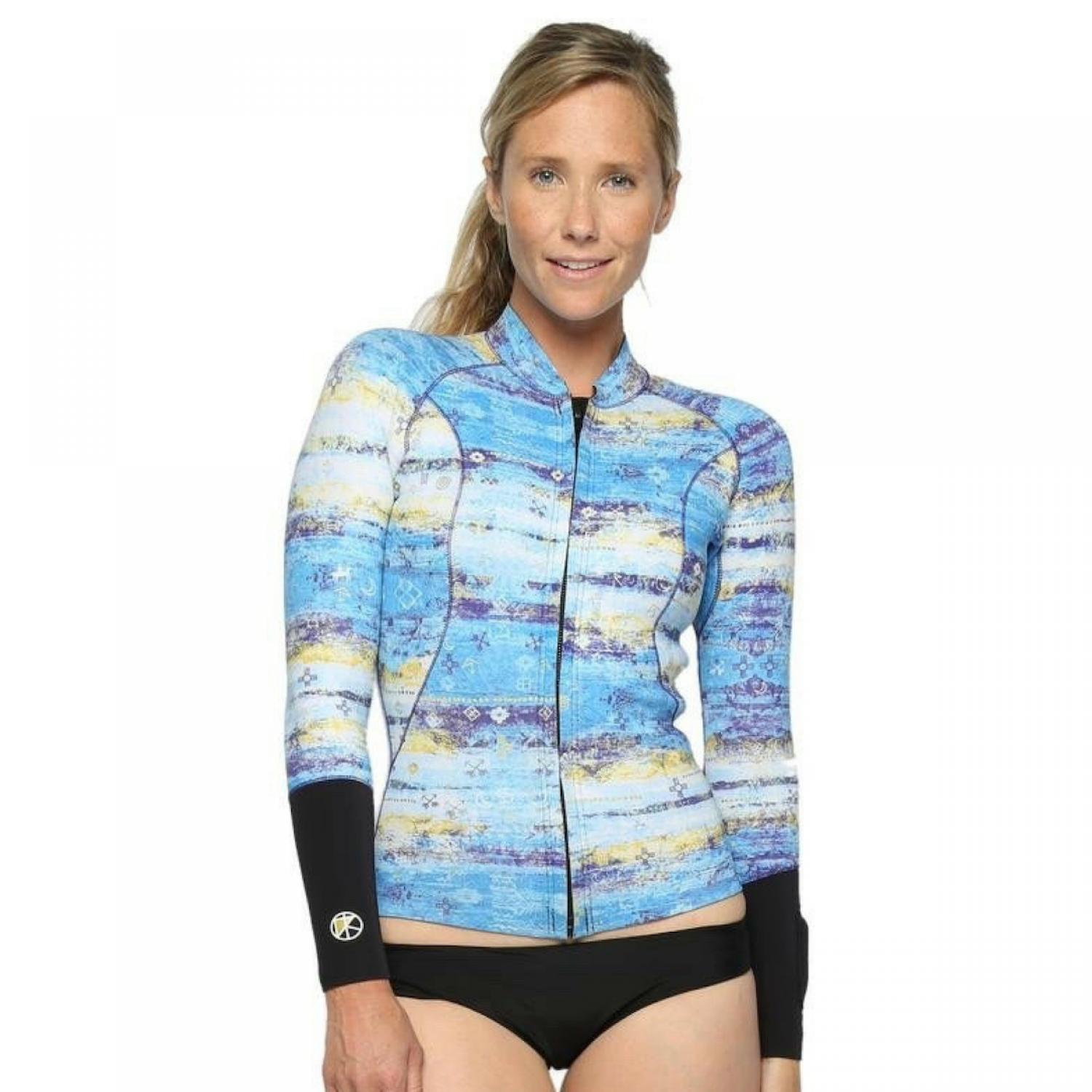 KASSIA + SURF 2mm JACKET Sky Blue
