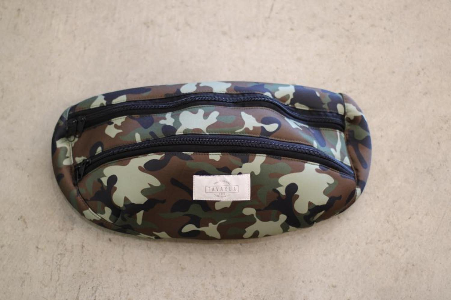 【TAVARUA】Surf bag large GREEN-CAMO