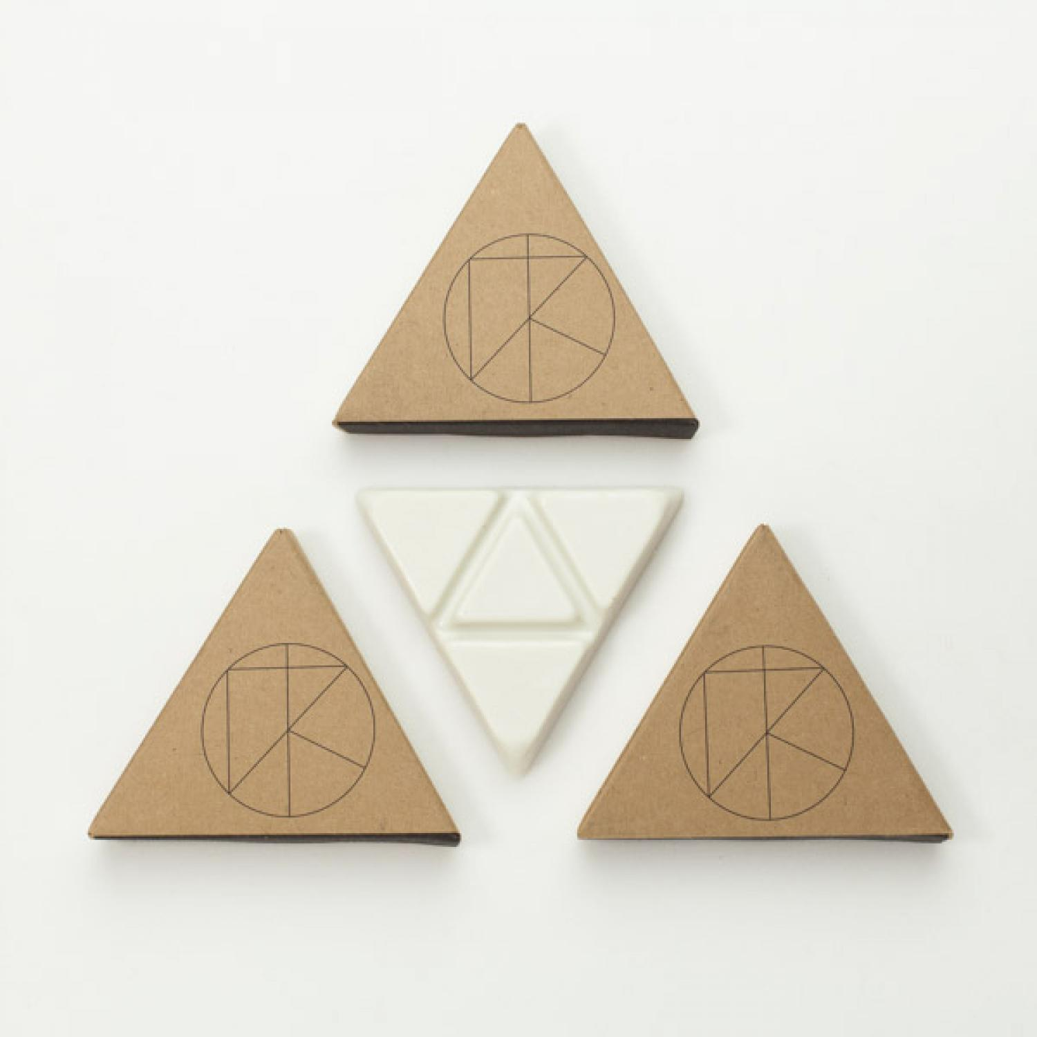 "KASSIA SURF PALO SANTO WAX ""TRIANGLE STACK"" WARM"
