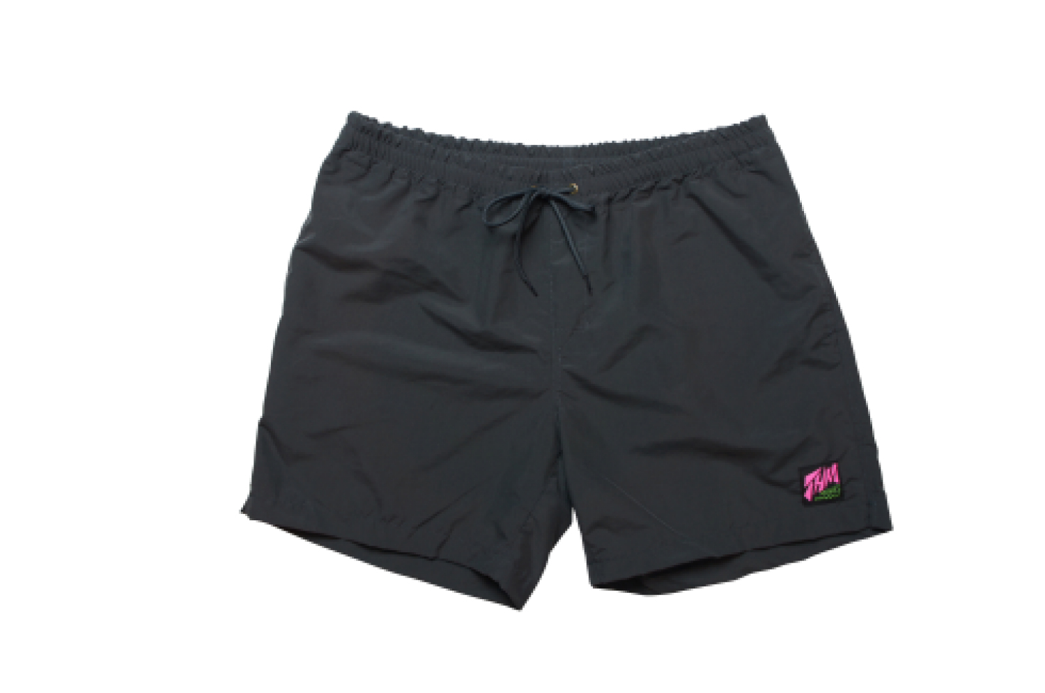 [THE HARD MAN] Shirring shorts Solid ネイビー