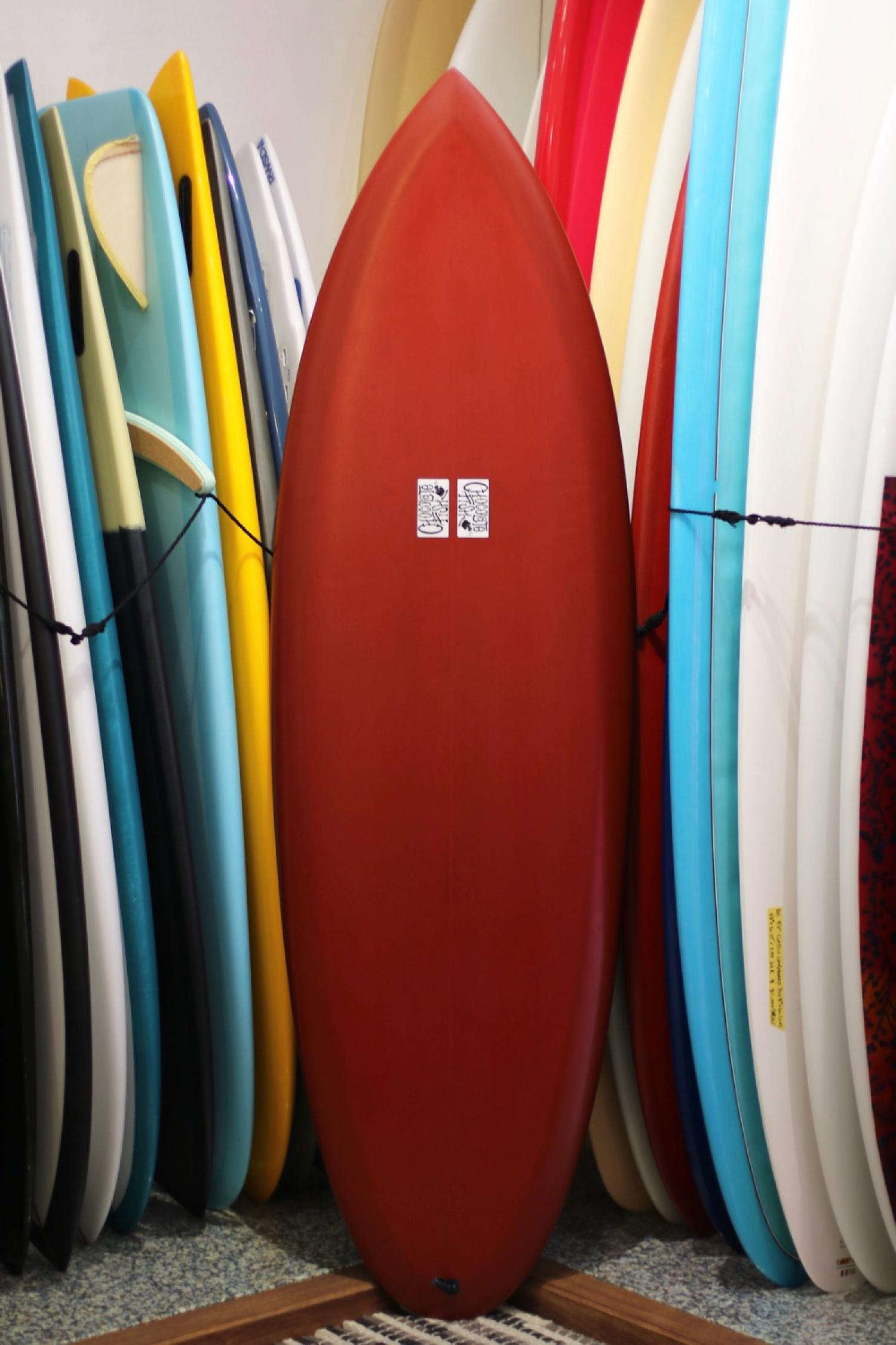 USED BOARDS (Chocolate Fish Surfboards Cosmic Fonder 5.10)