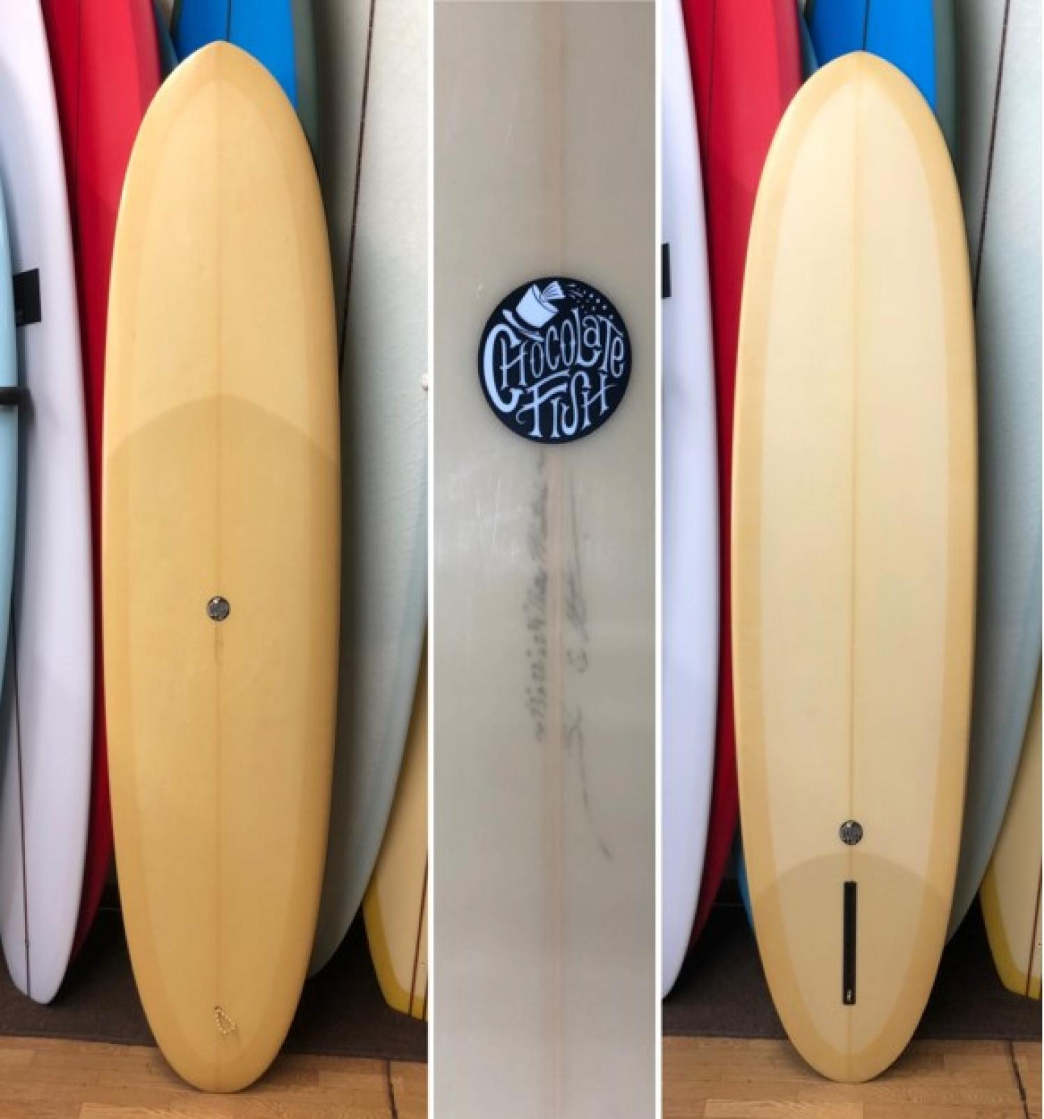USED BOARDS (Chocolate Fish Surfboards Dirty Martini 7.0)