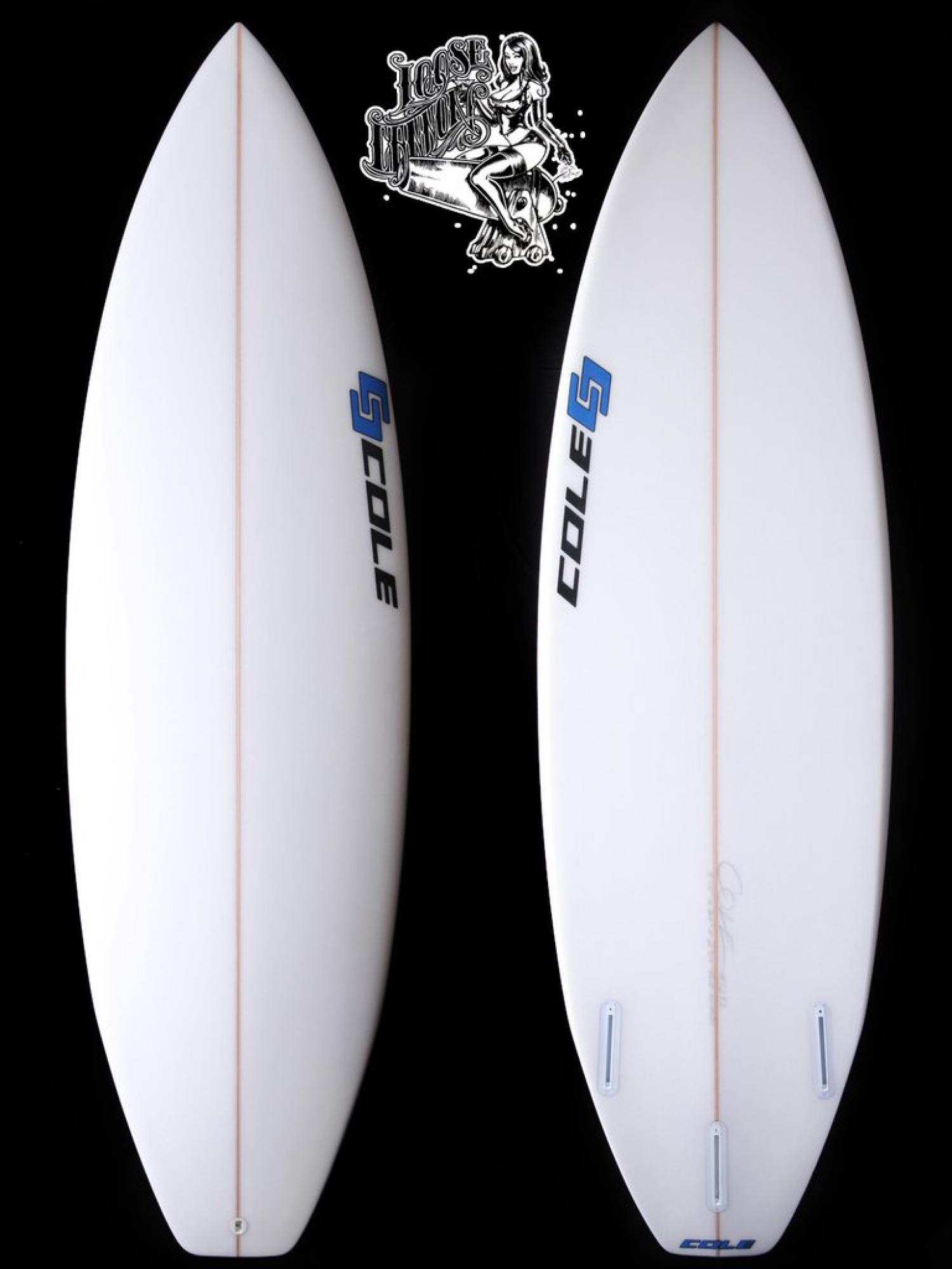 Loose Cannon COLE SURFBOARDS Order accepted