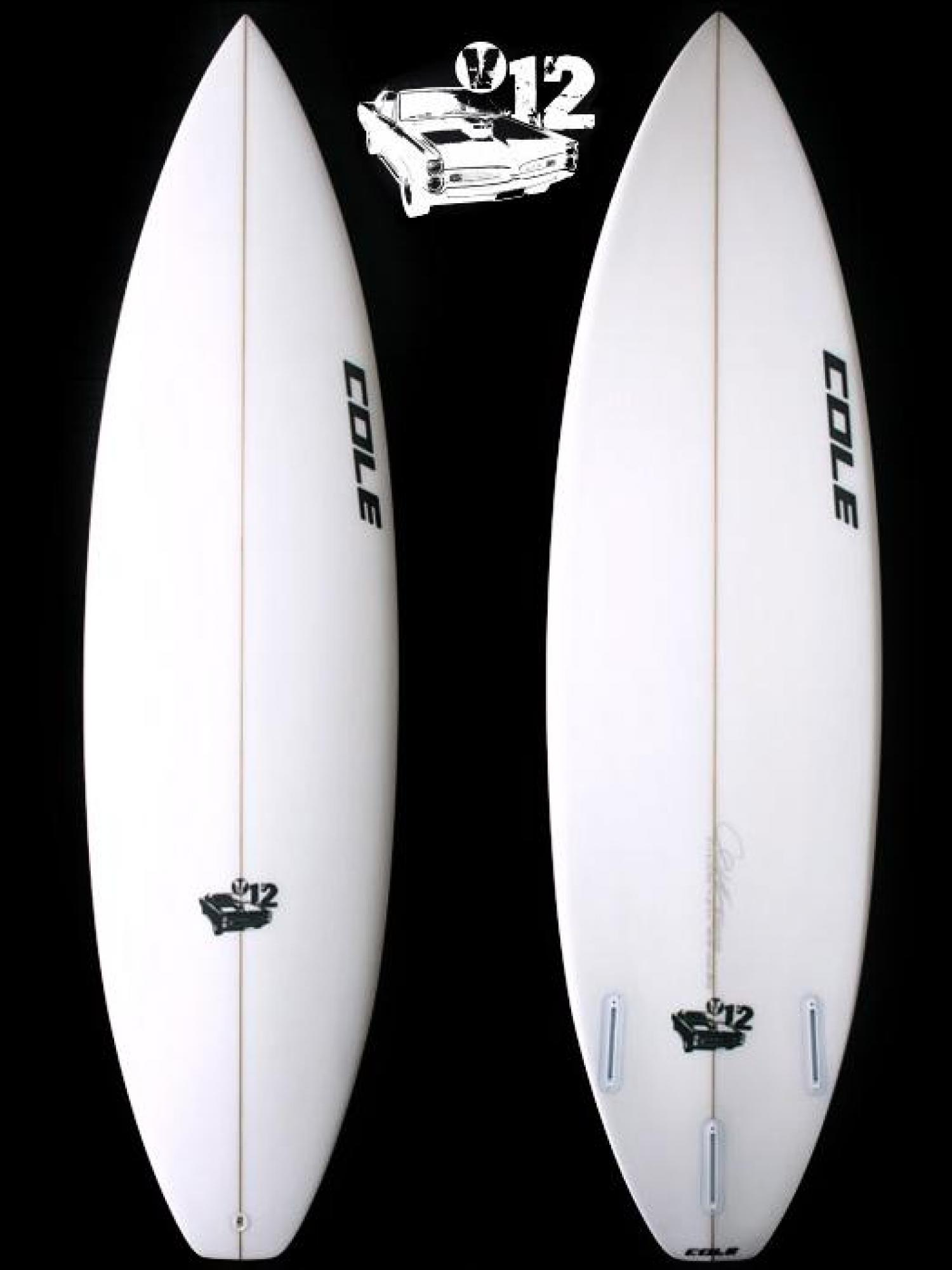 V12 COLE SURFBOARDS  Order accepted