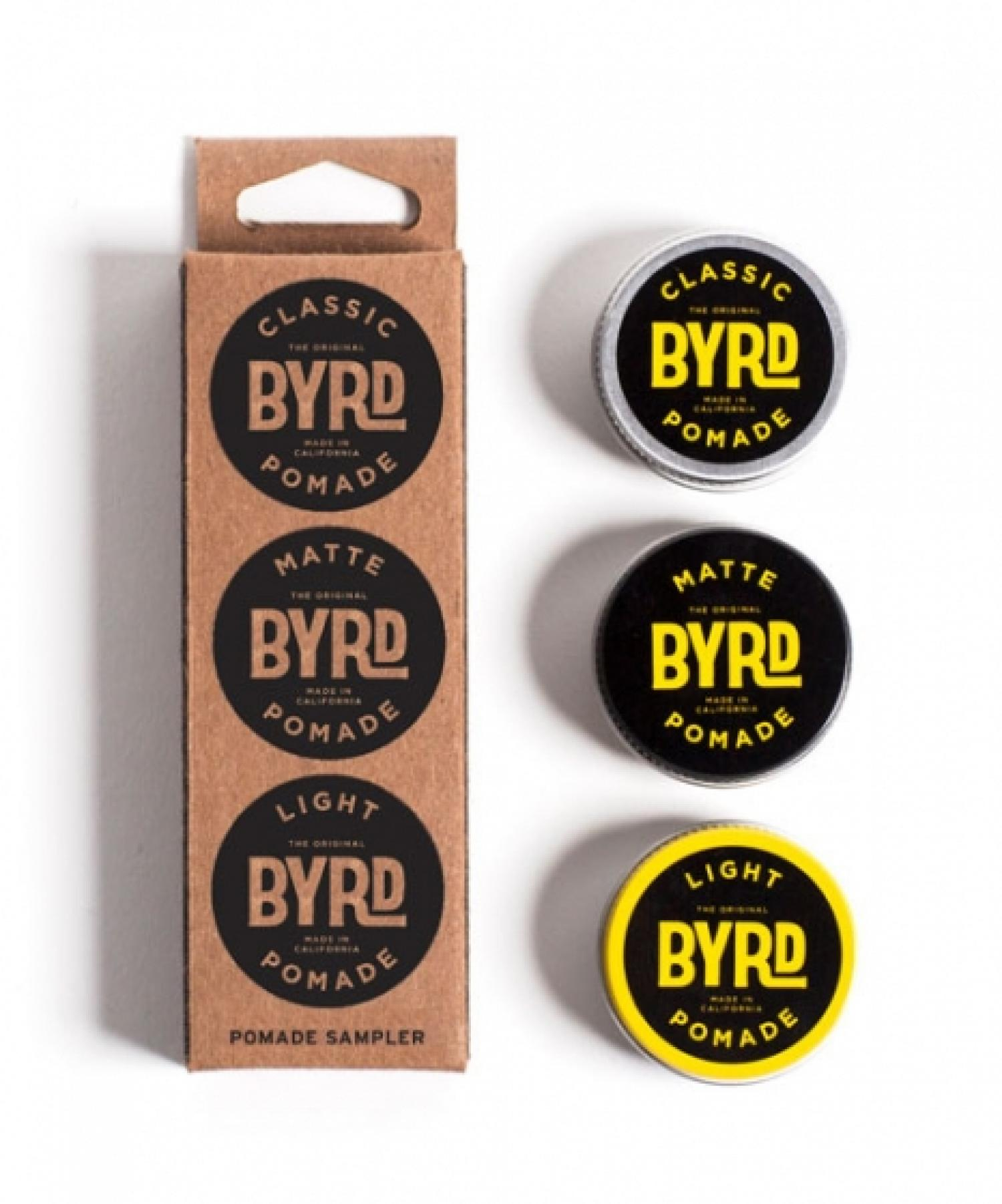 BYRD MINI POMADE COCKTAIL KIT