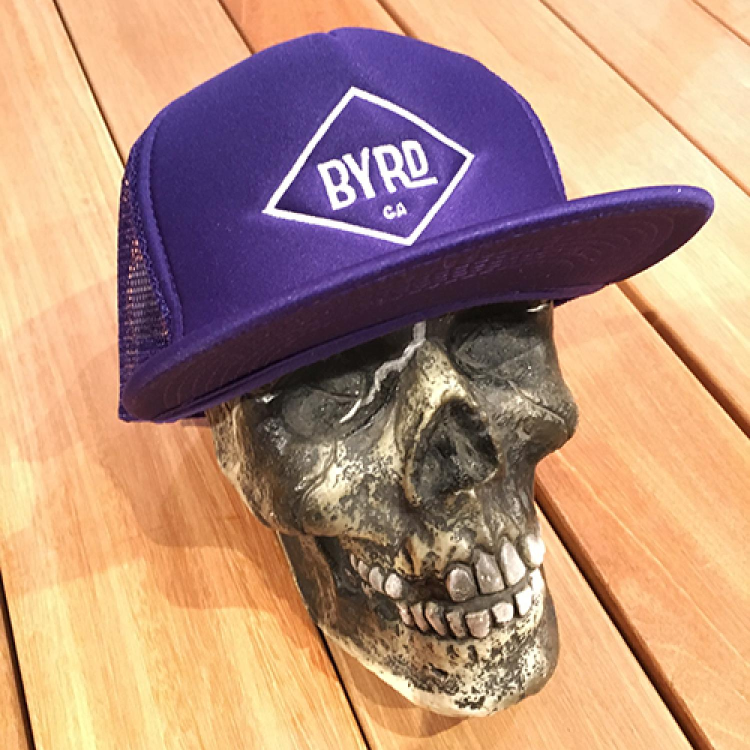 BYRD CAP PURPLE