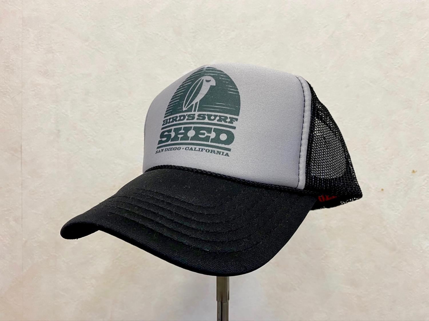 FLASH BYRD CAP  GRAY