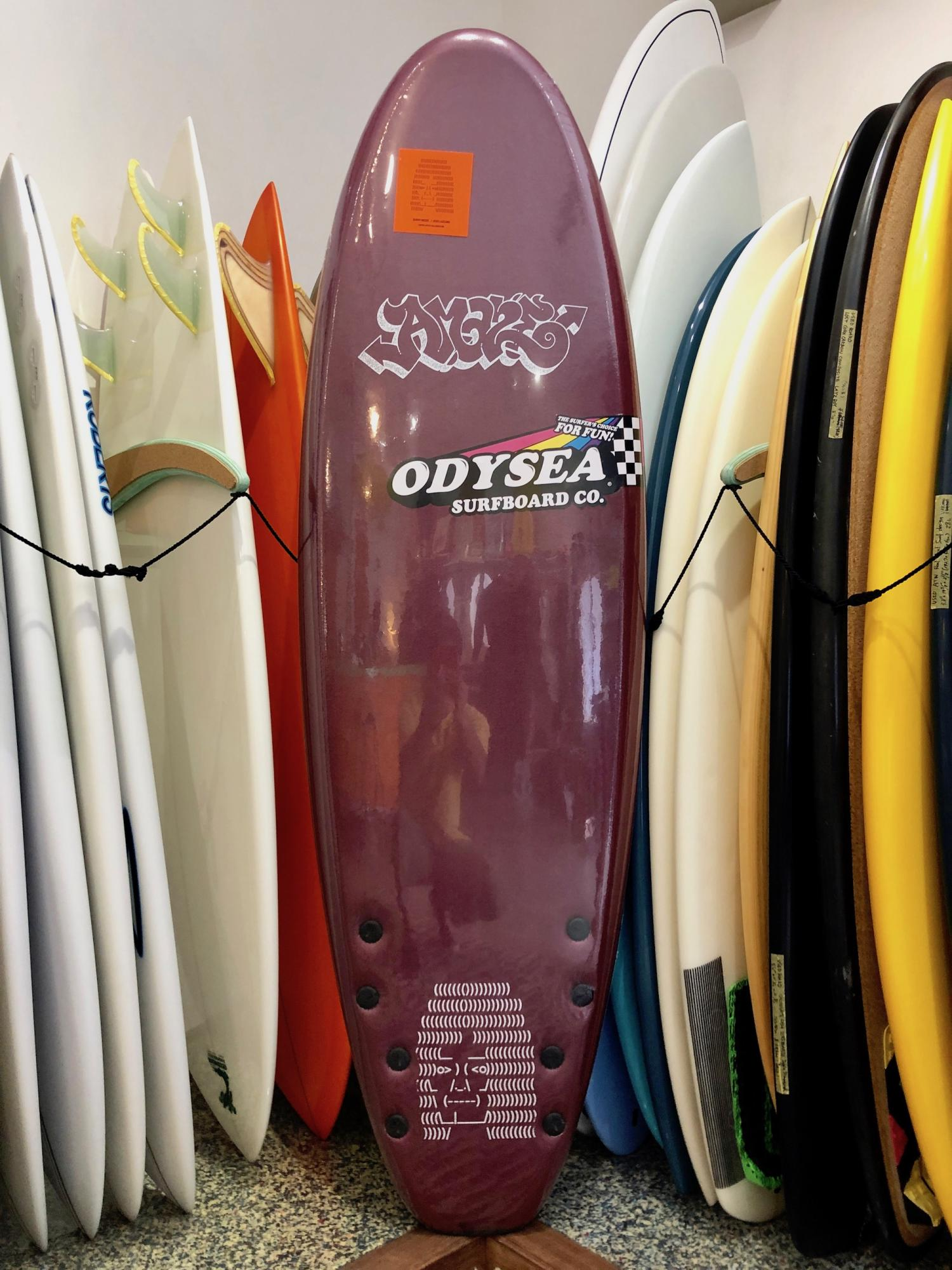ODYSEA 6.0 Barry McGee and Josh Lazcano Quad Fin