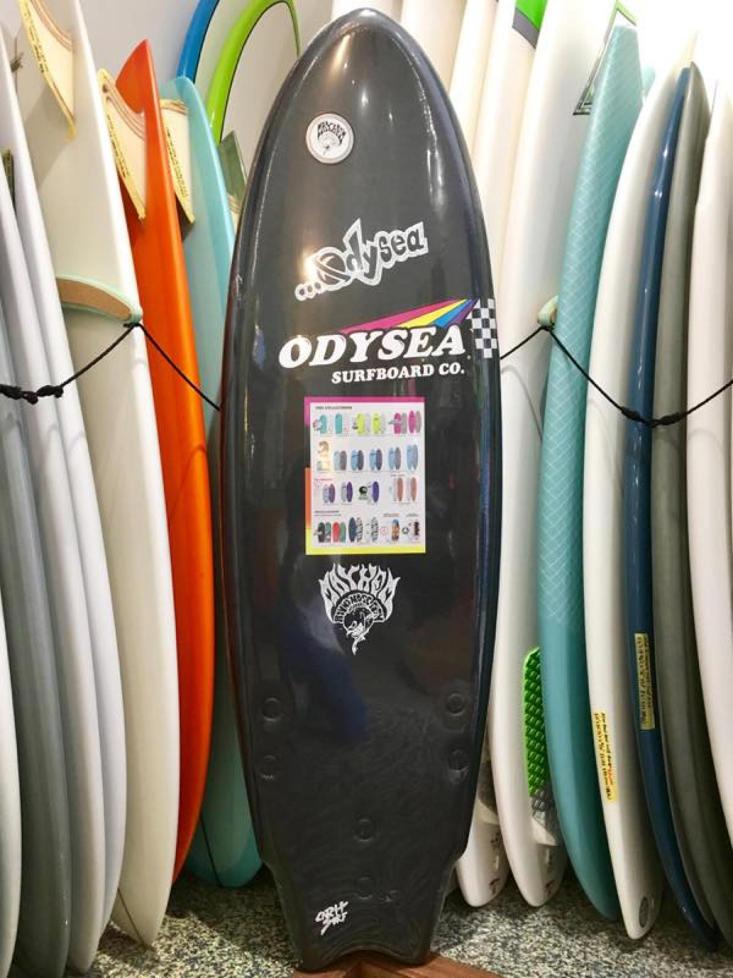 Odysea Skipper Fish 5.5 Lost RNF BLACK 全国送料無料
