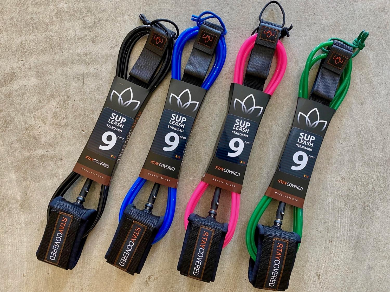 9 Stay Covered SUP Surf Leash
