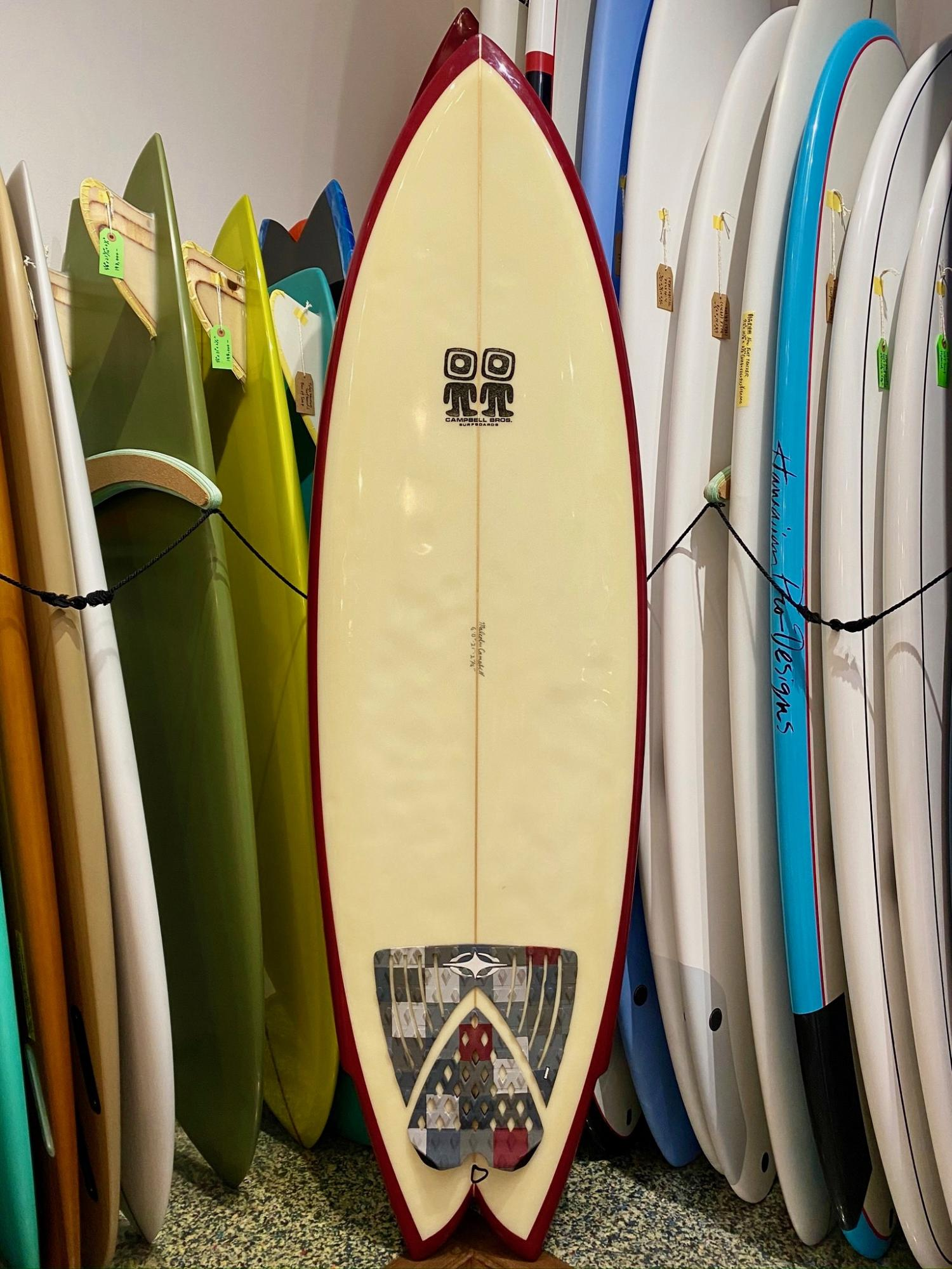 USED BOARDS (Campbell Brothers Surfboards Octafish 6.0)