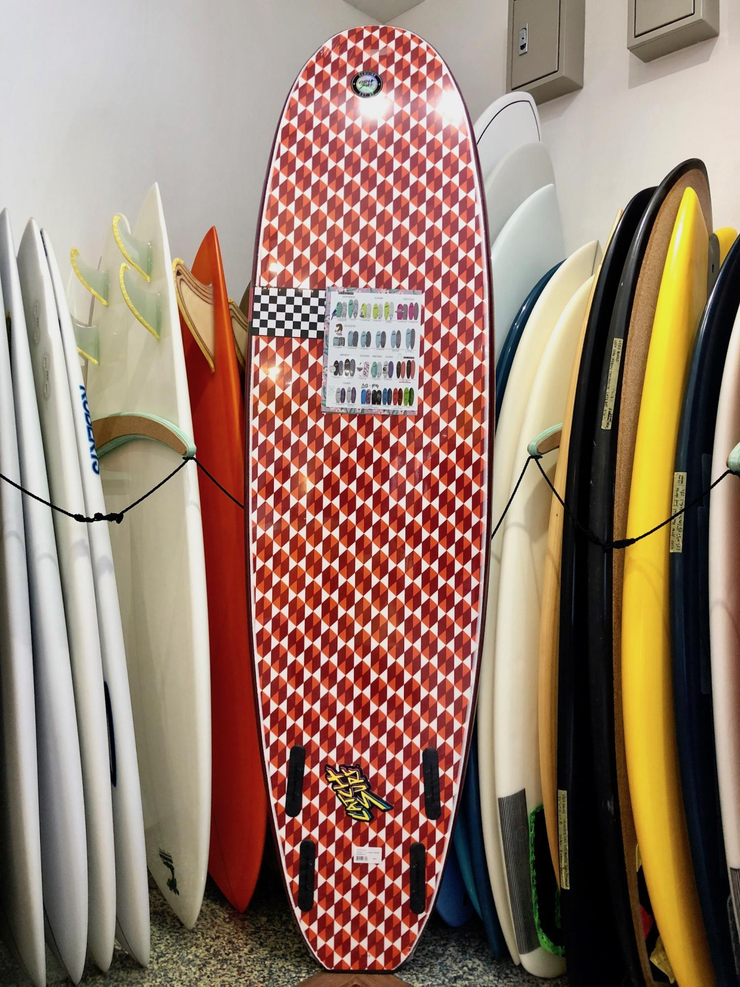 ODYSEA 7.0 Barry McGee and Josh Lazcano Quad Fin
