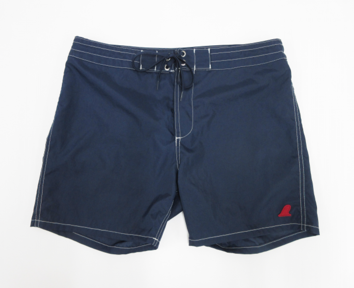 VOLN RED FIN BOARDSHORTS NAVY