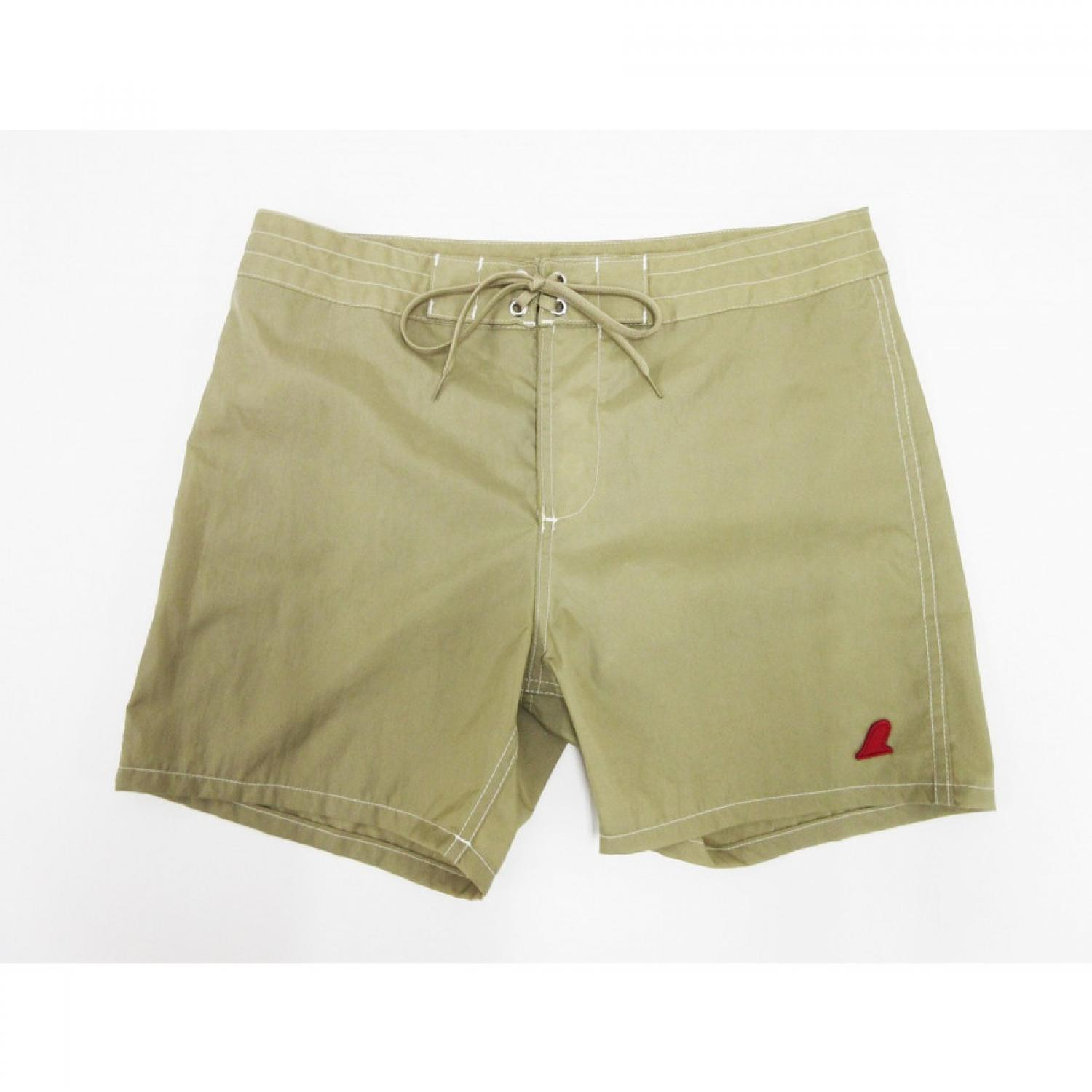 VOLN RED FIN BOARDSHORTS BEIGE