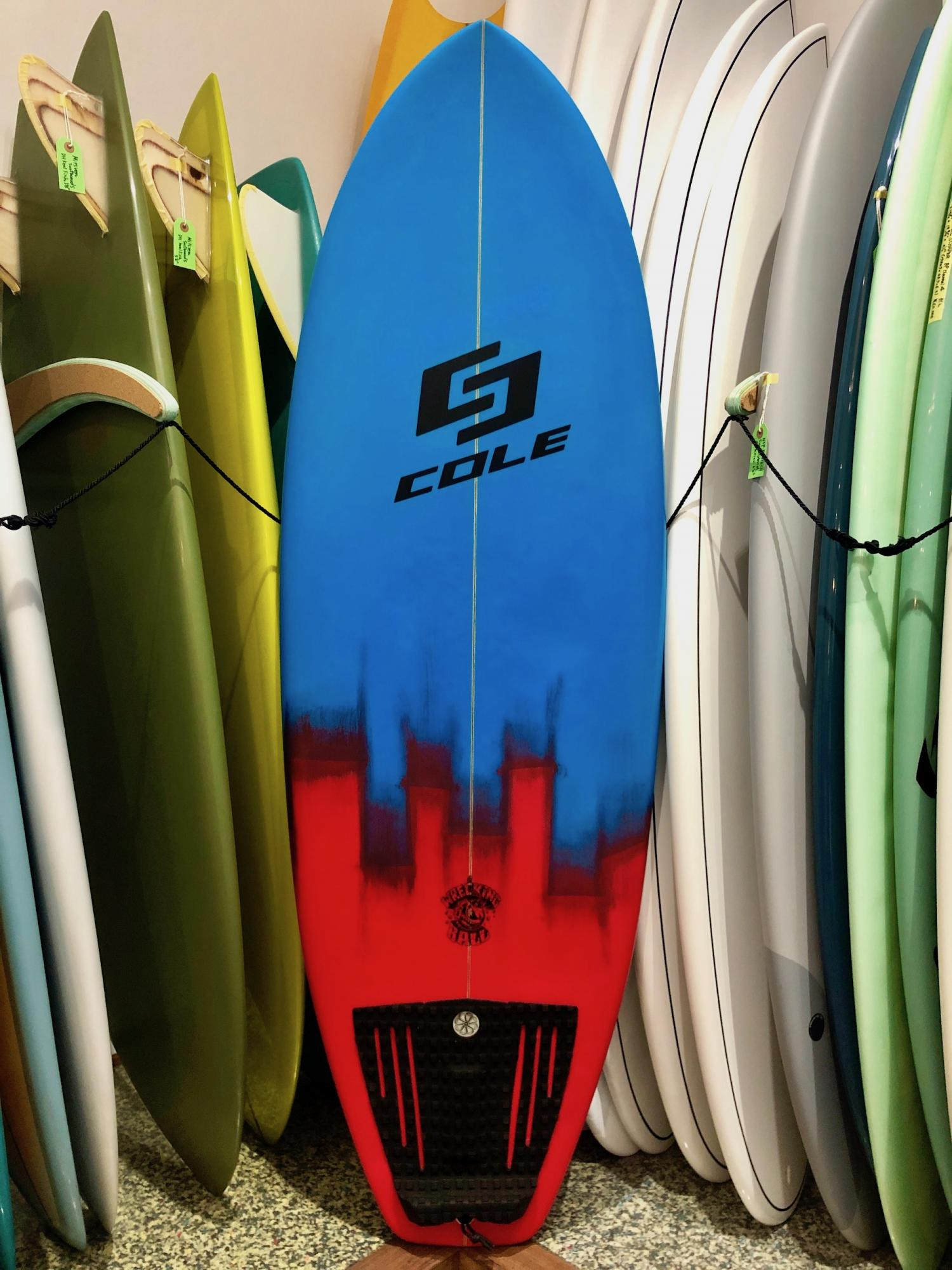 USED BOARDS (Wrecking Ball COLE SURFBOARDS 5.4)