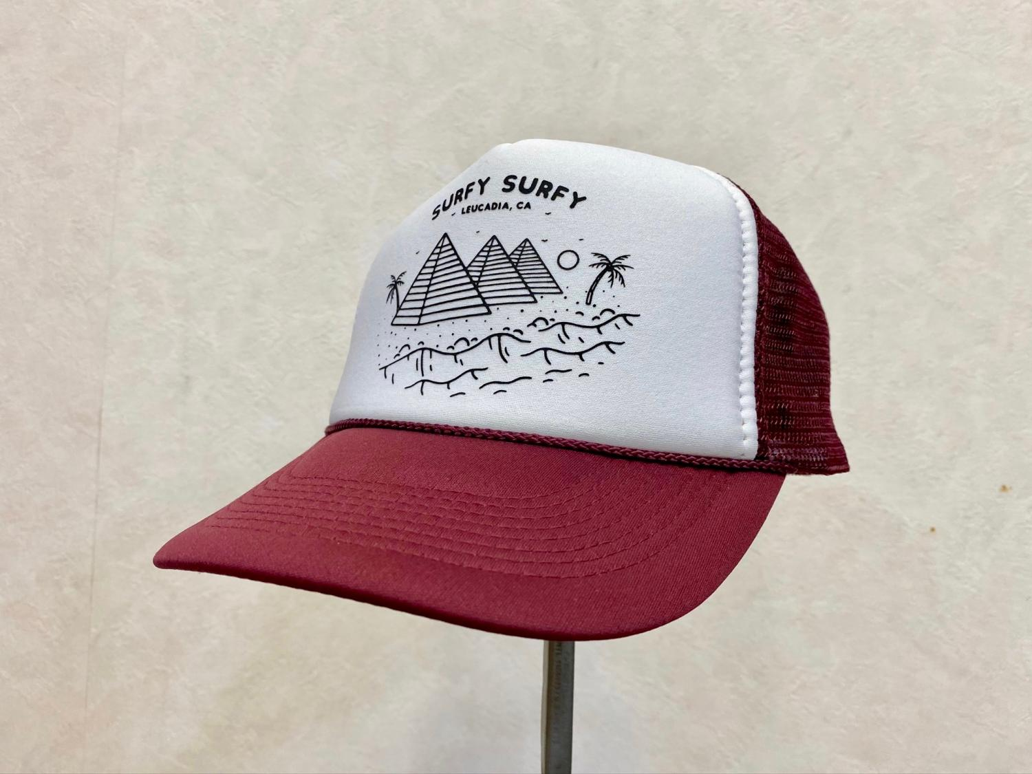 GREAT PYRAMIDS OF SURFY TRUCKER HAT
