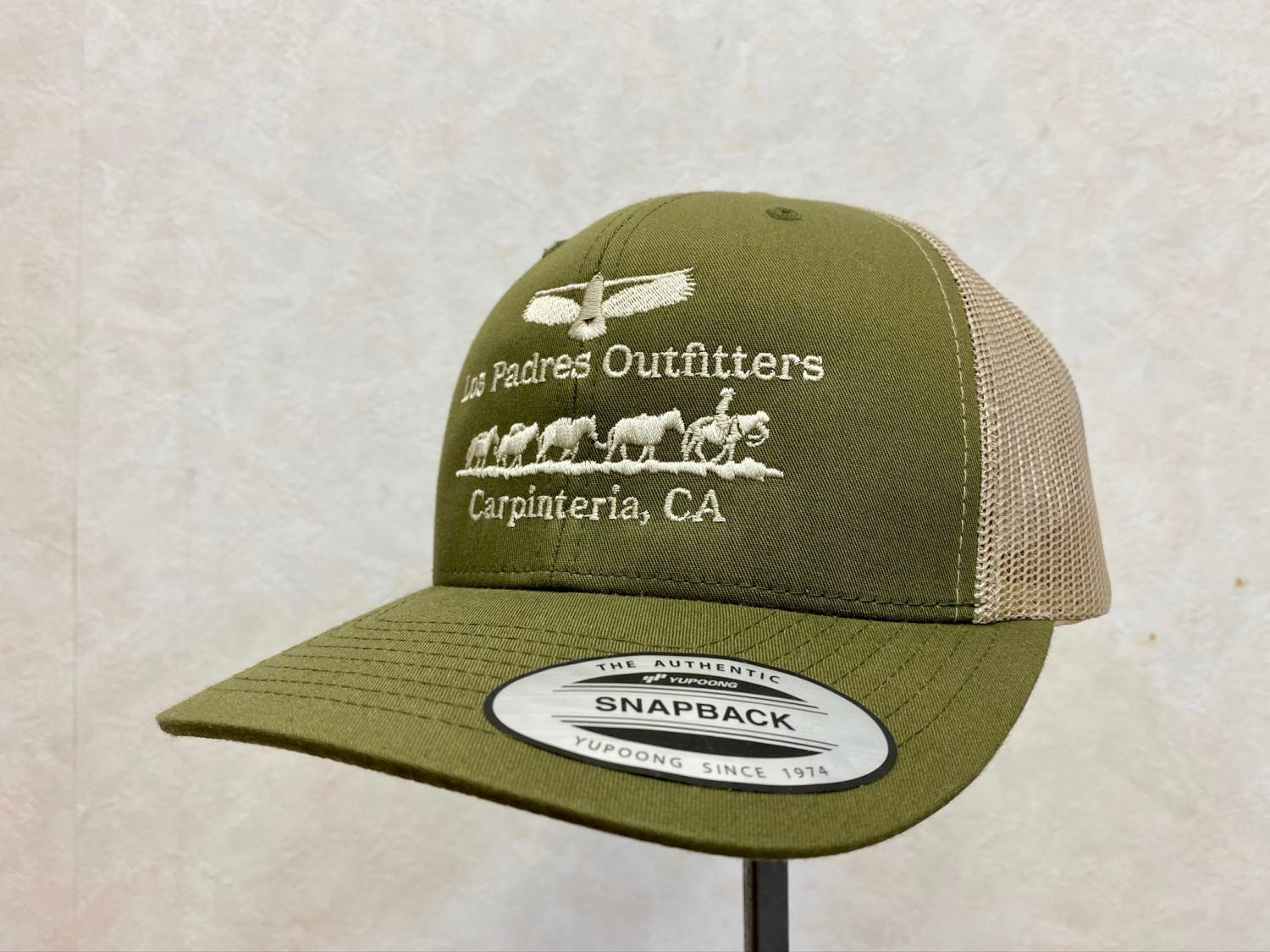 HERITAGE GOODS & SUPPLY TRUCKER HAT Green