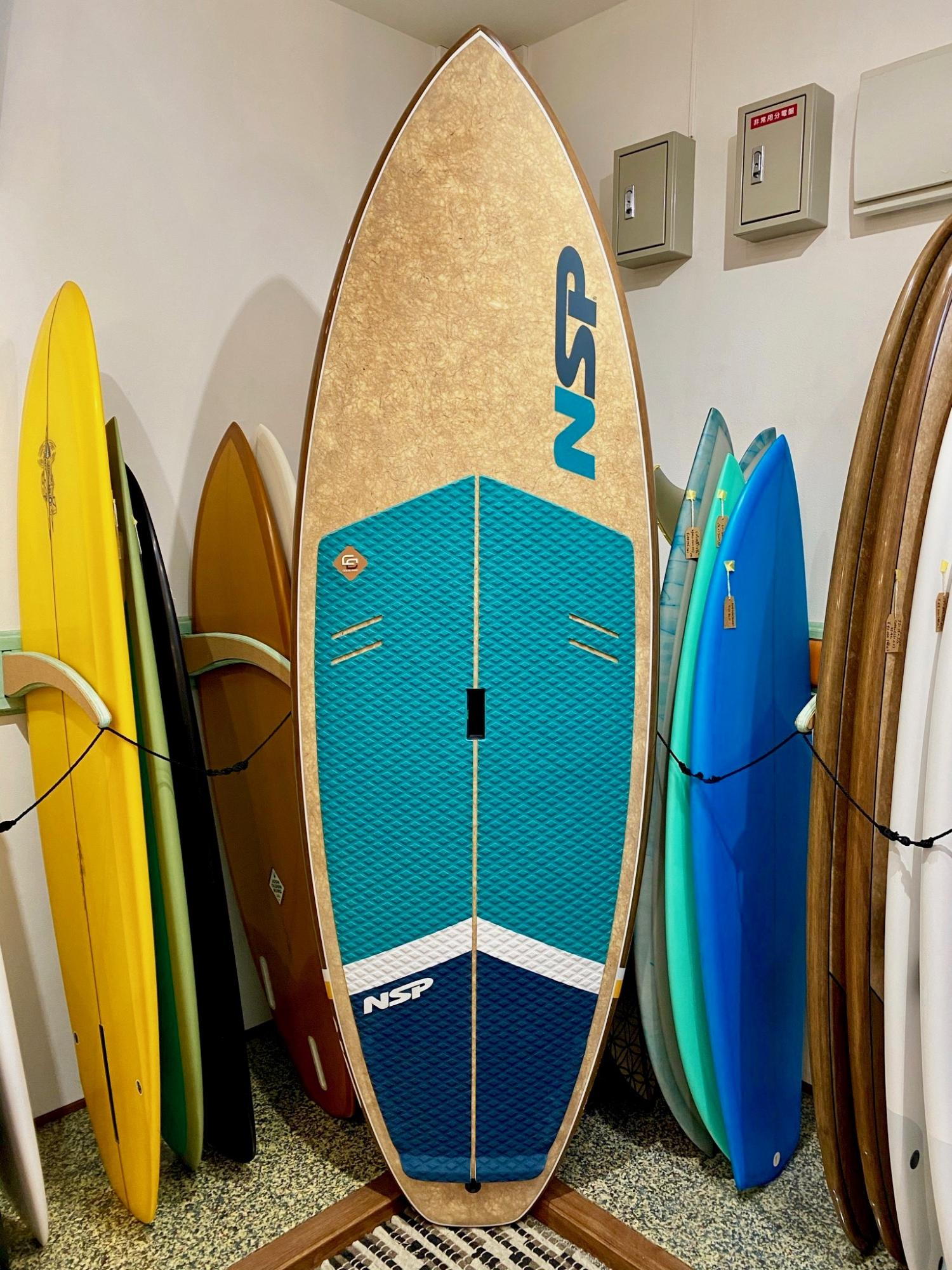 USED SUP BOARDS(NSP Coco Mat 8.10 BLUE)